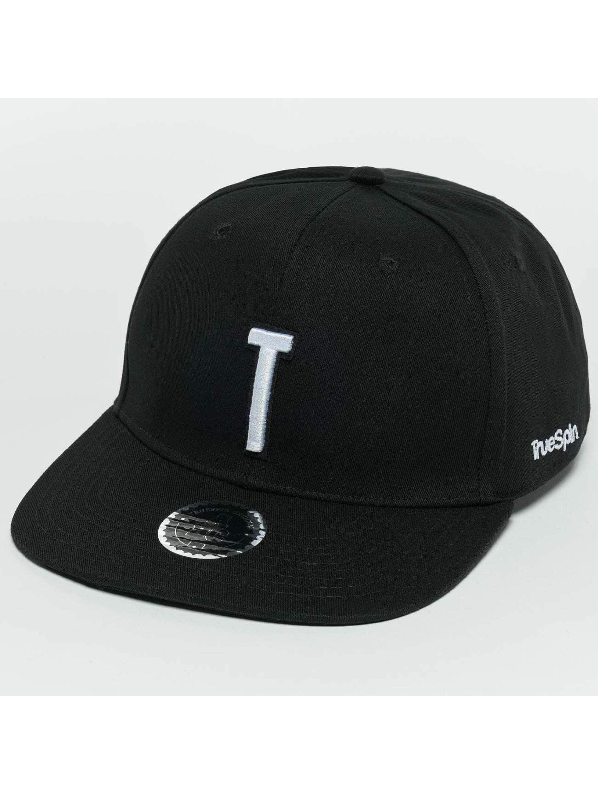 TrueSpin Snapback Caps ABC T czarny