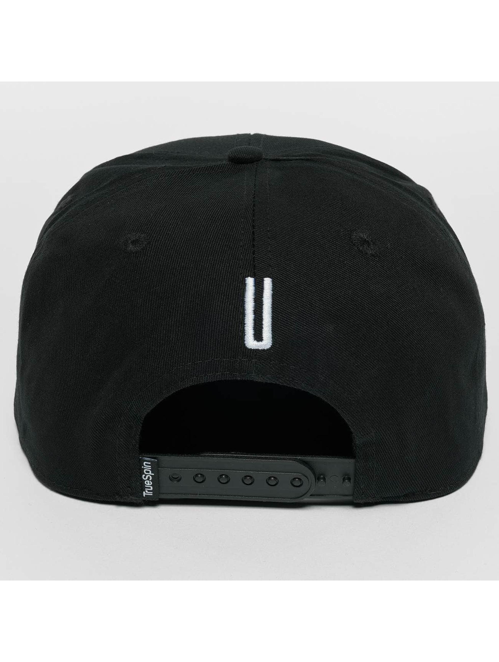 TrueSpin Snapback Caps ABC U czarny