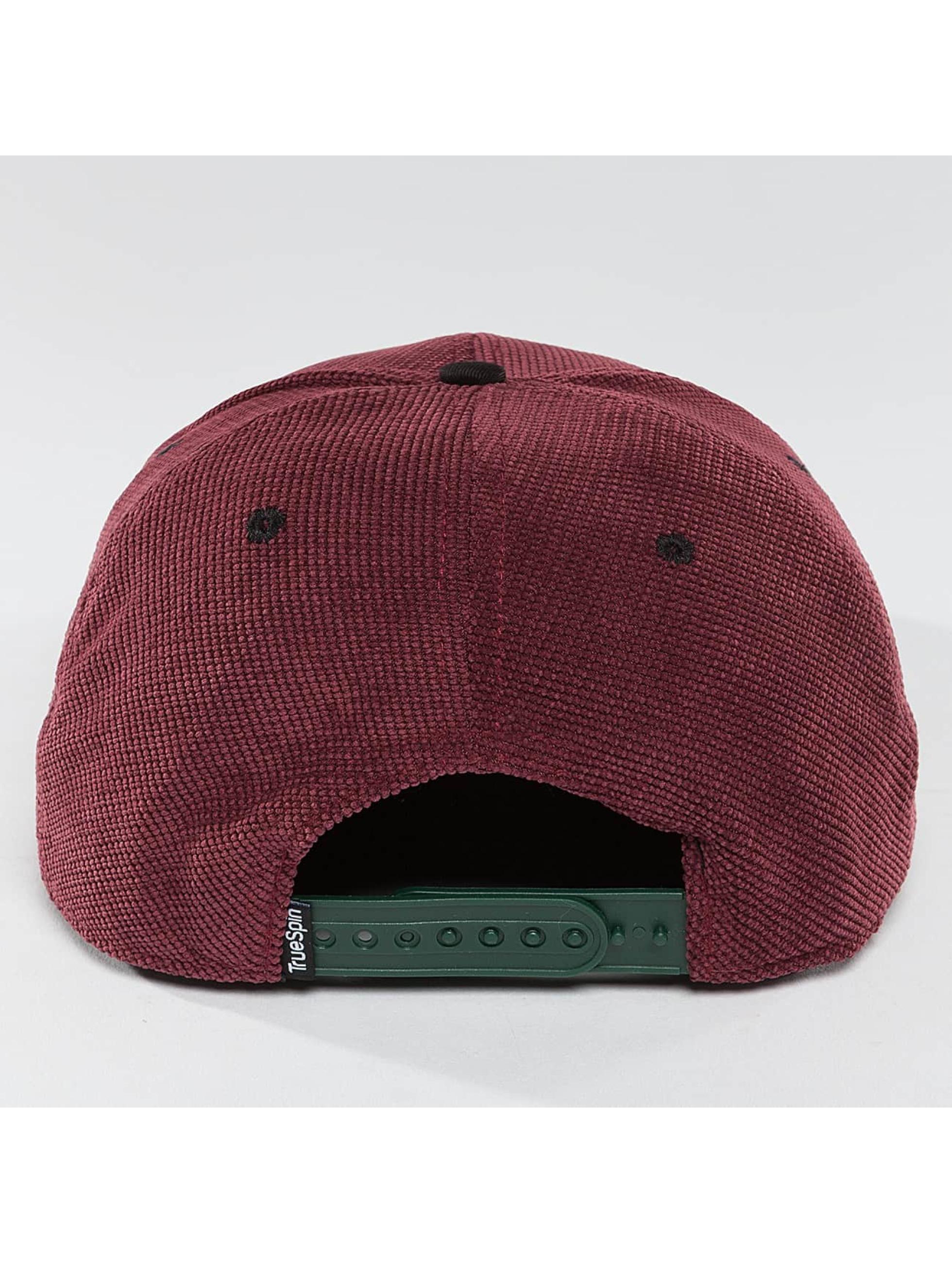 TrueSpin Snapback Caps Touchy czerwony