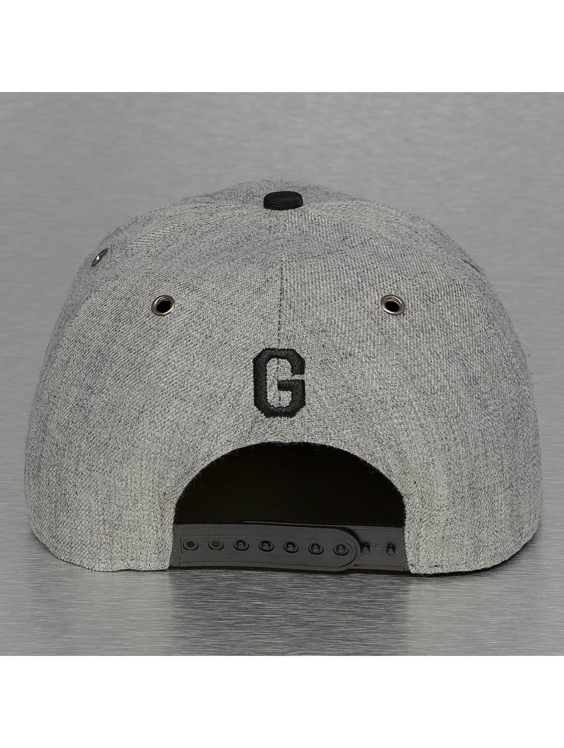 TrueSpin Snapback Caps ABC-G Wool grå
