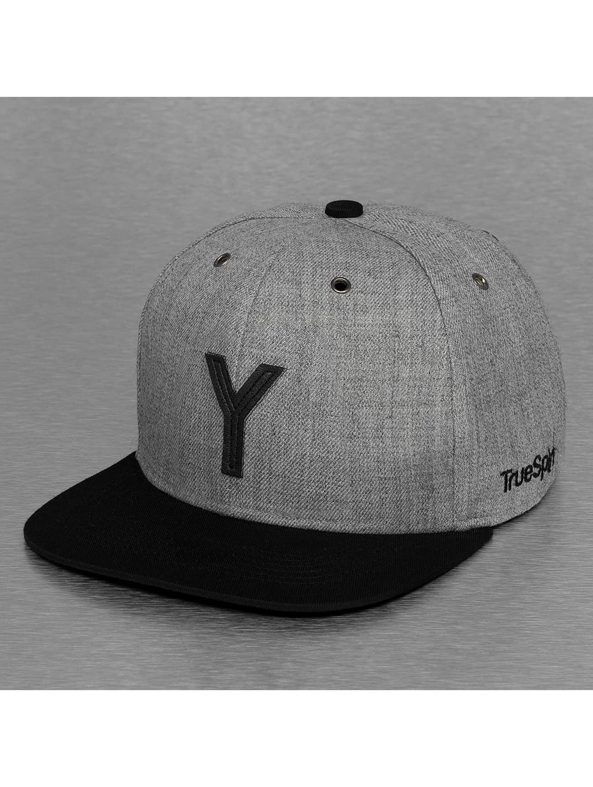 TrueSpin Snapback Caps ABC-Y Wool grå