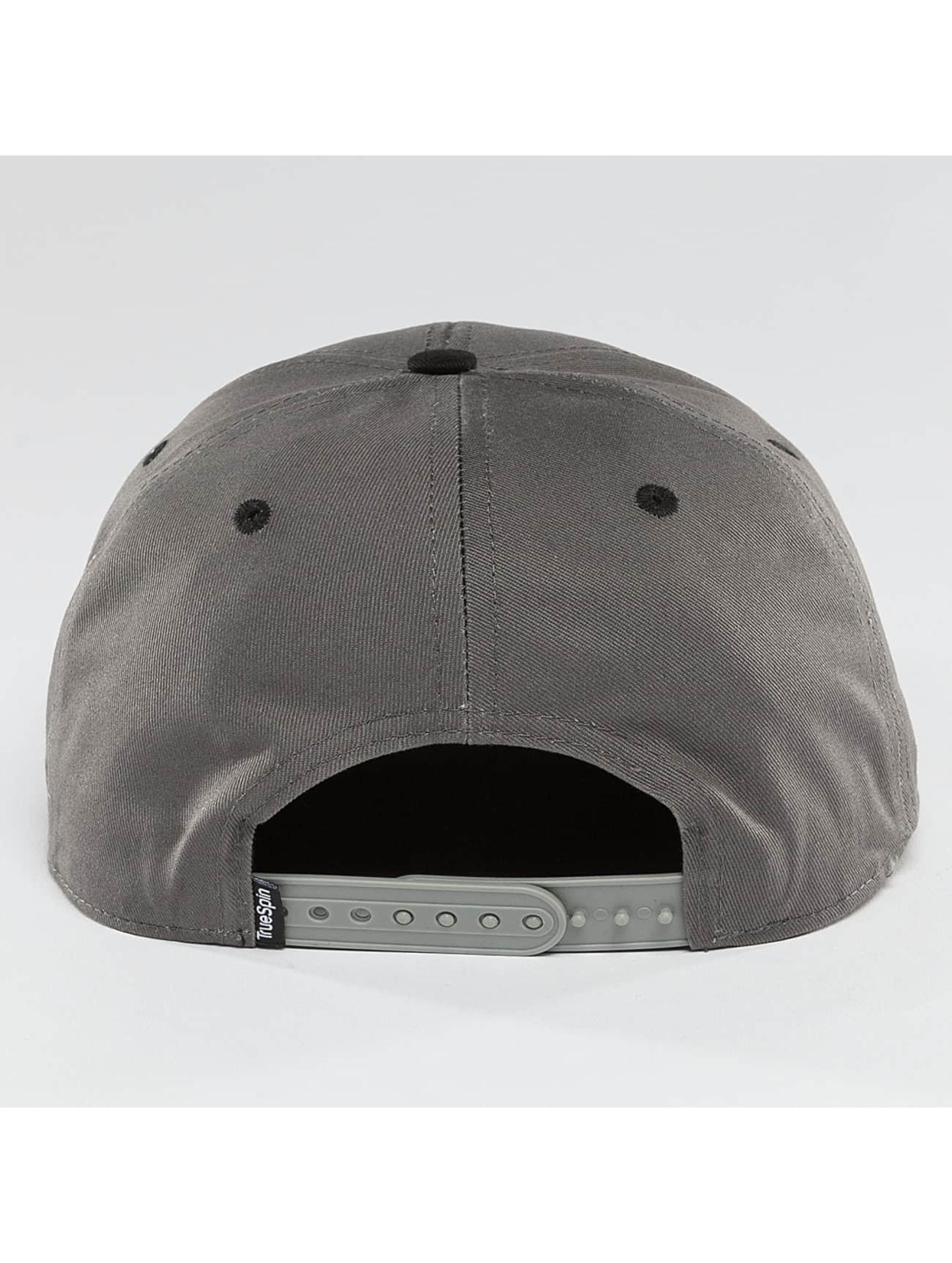 TrueSpin Snapback Caps Luck grå