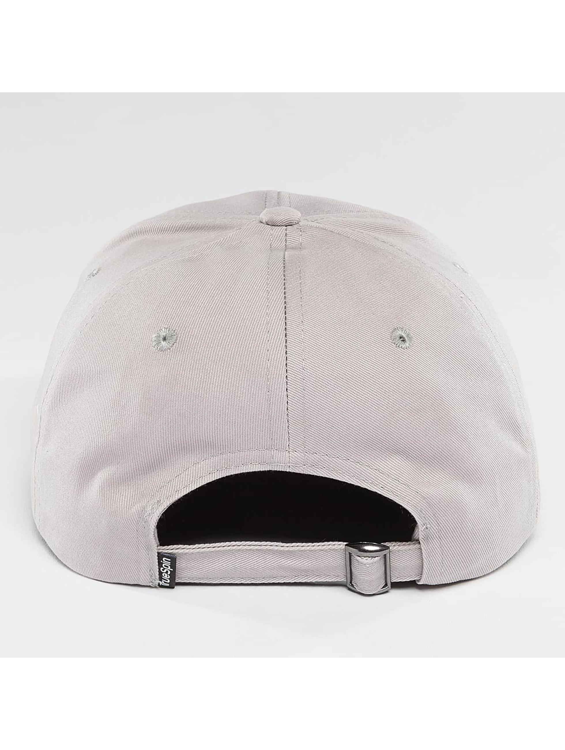 TrueSpin Snapback Caps Truely Small grå