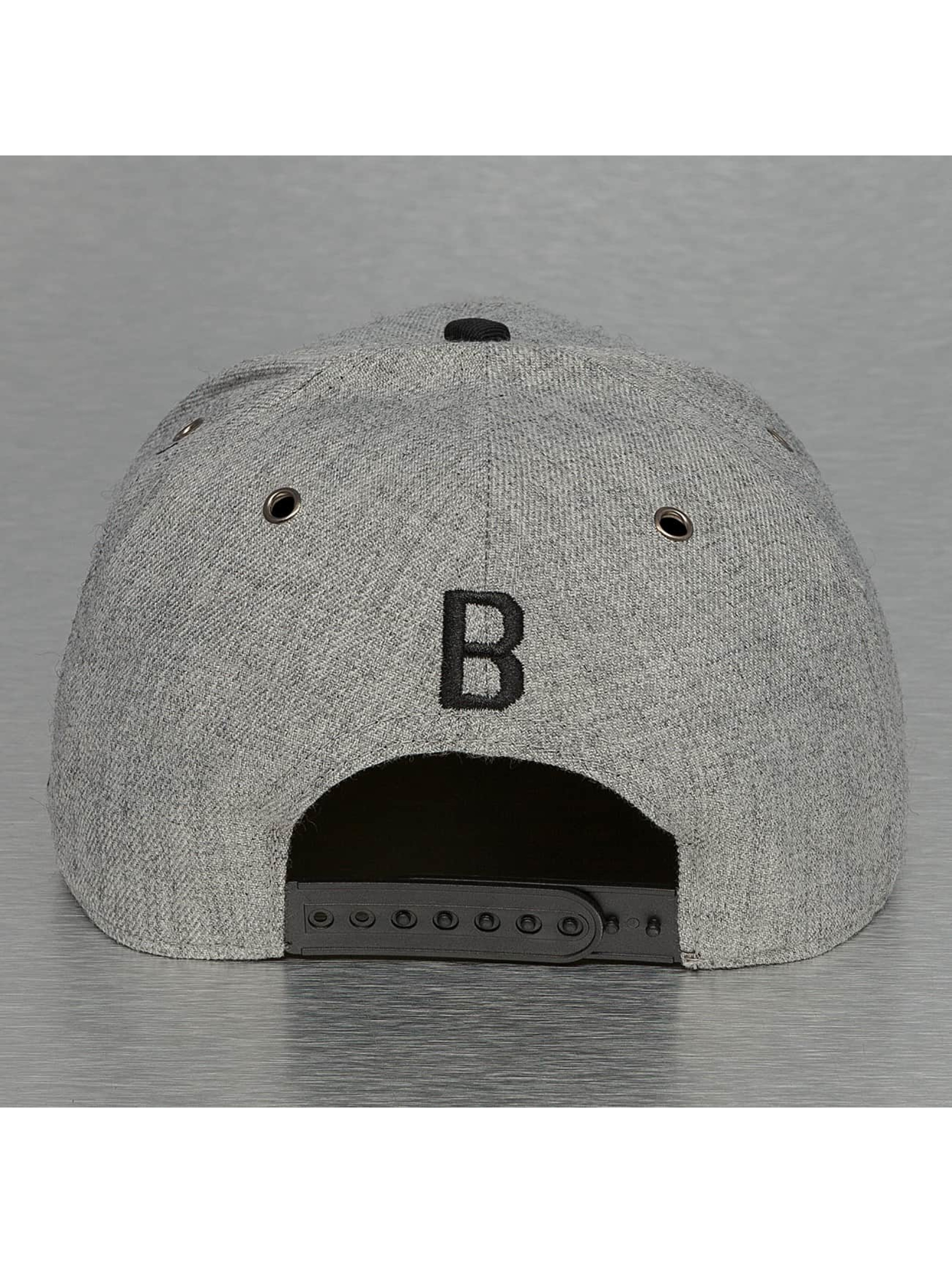 TrueSpin Snapback Caps ABC-B Wool harmaa