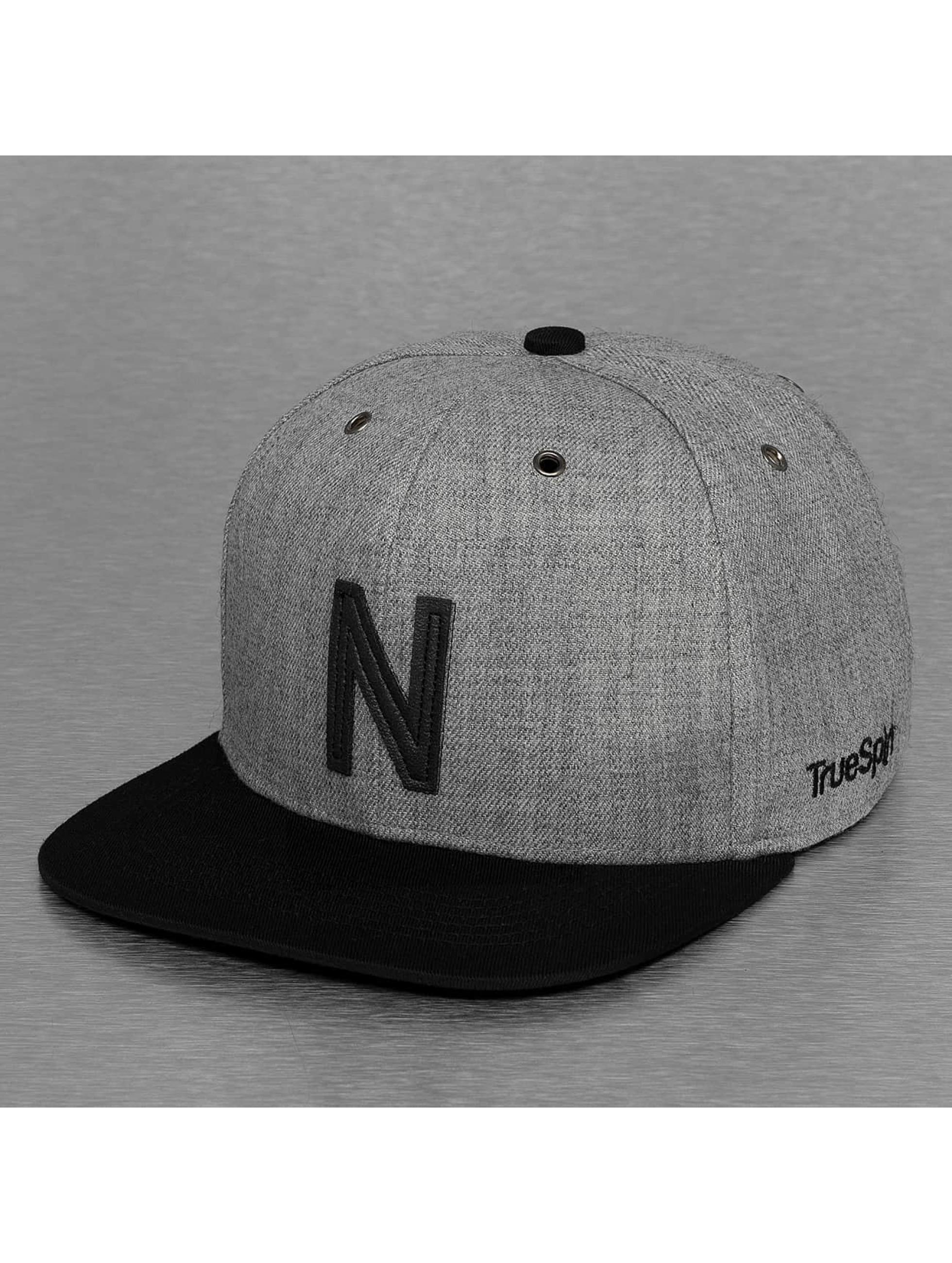 TrueSpin Snapback Caps ABC-N Wool harmaa