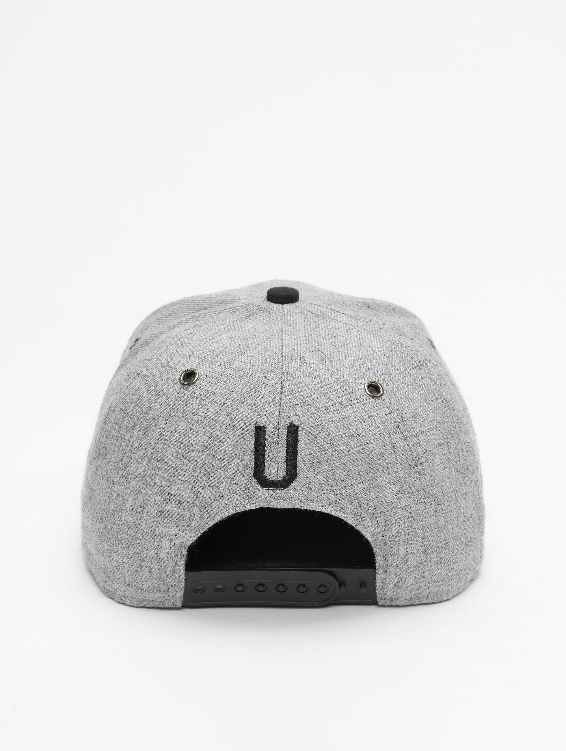 TrueSpin Snapback Caps ABC-U Wool harmaa