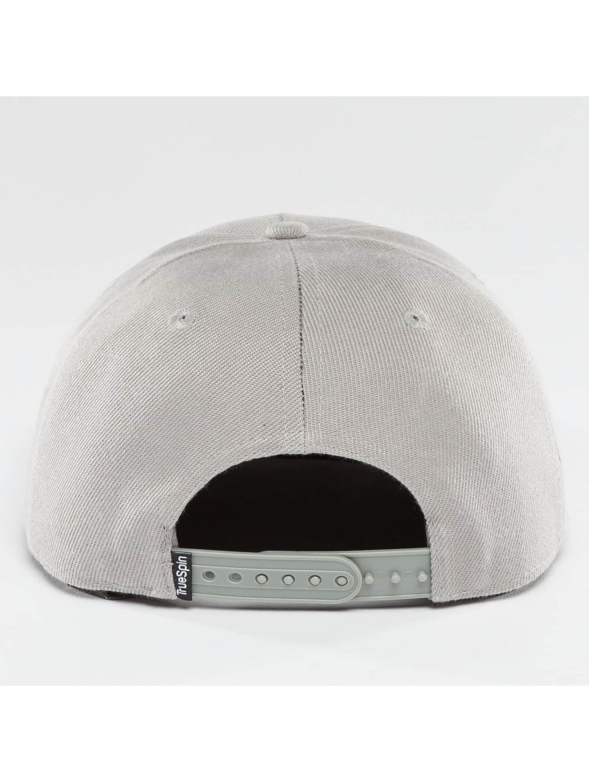 TrueSpin Snapback Caps Blank harmaa