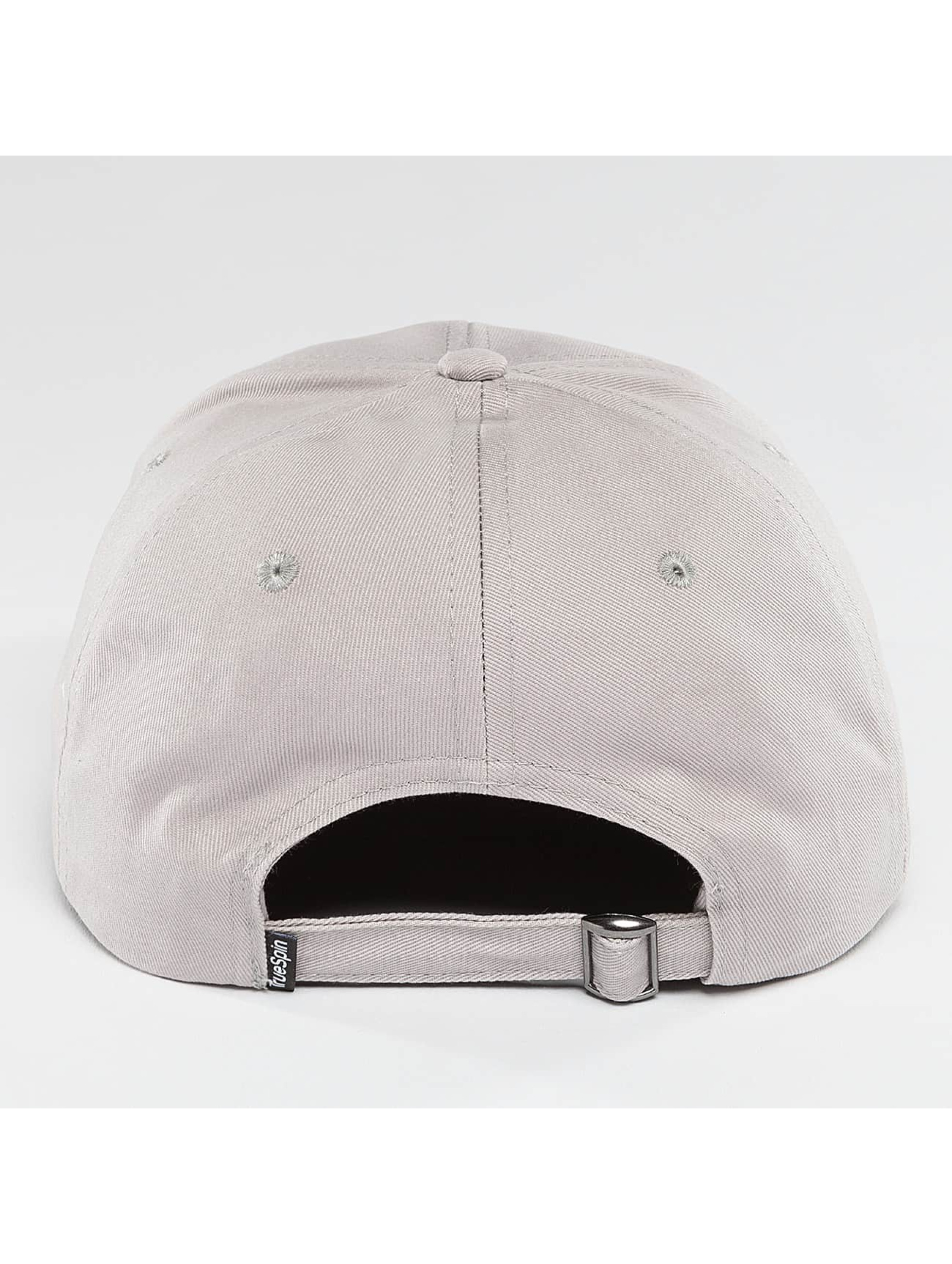 TrueSpin Snapback Caps Truely Small harmaa
