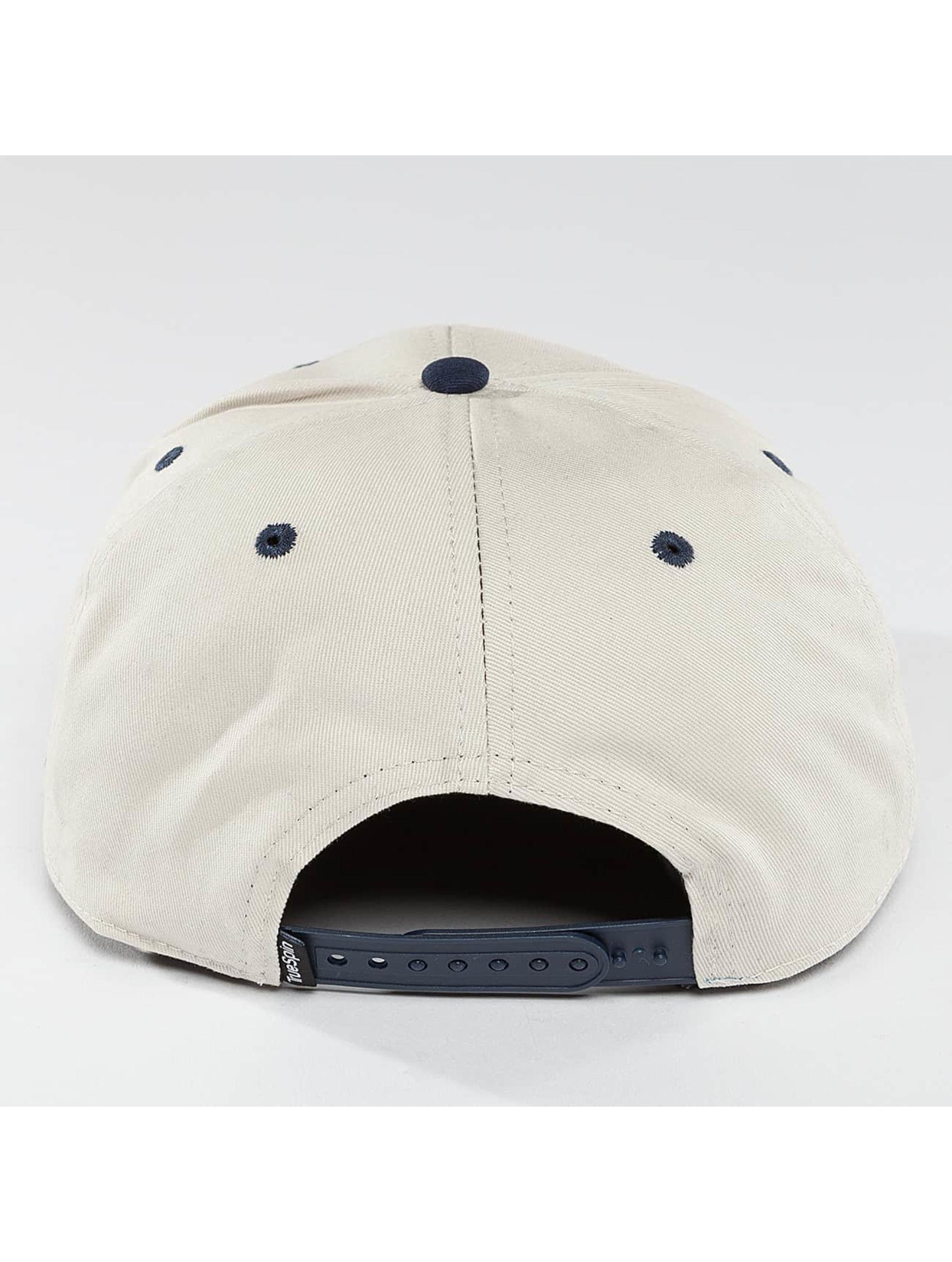 TrueSpin Snapback Caps Twister hvit
