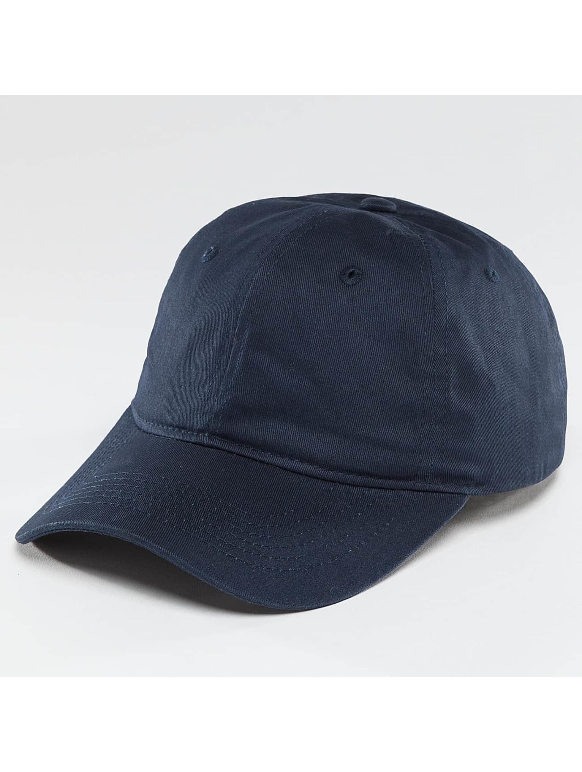 TrueSpin Snapback Caps Unstructured Dad modrý