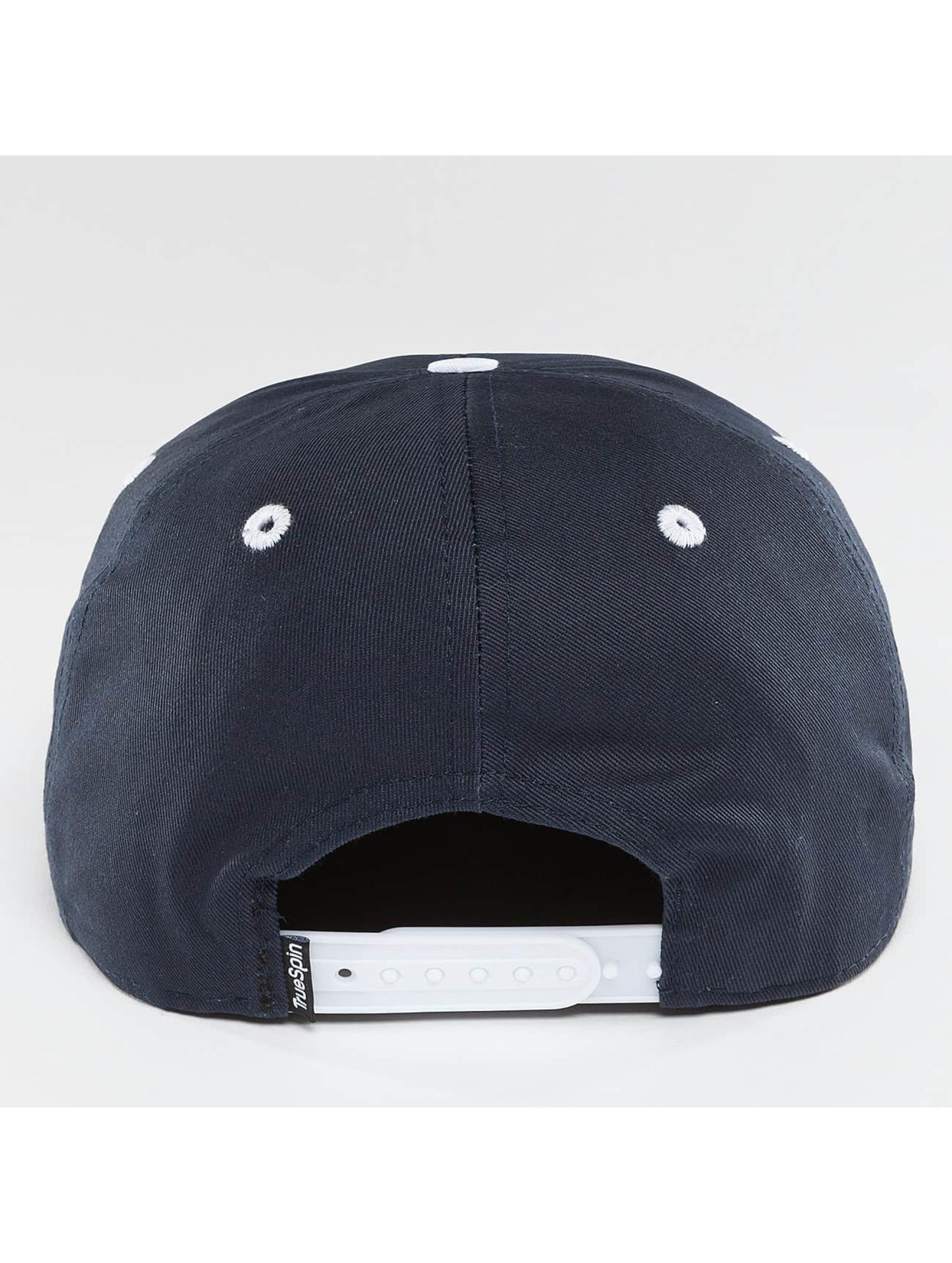 TrueSpin Snapback Caps Chiller modrý