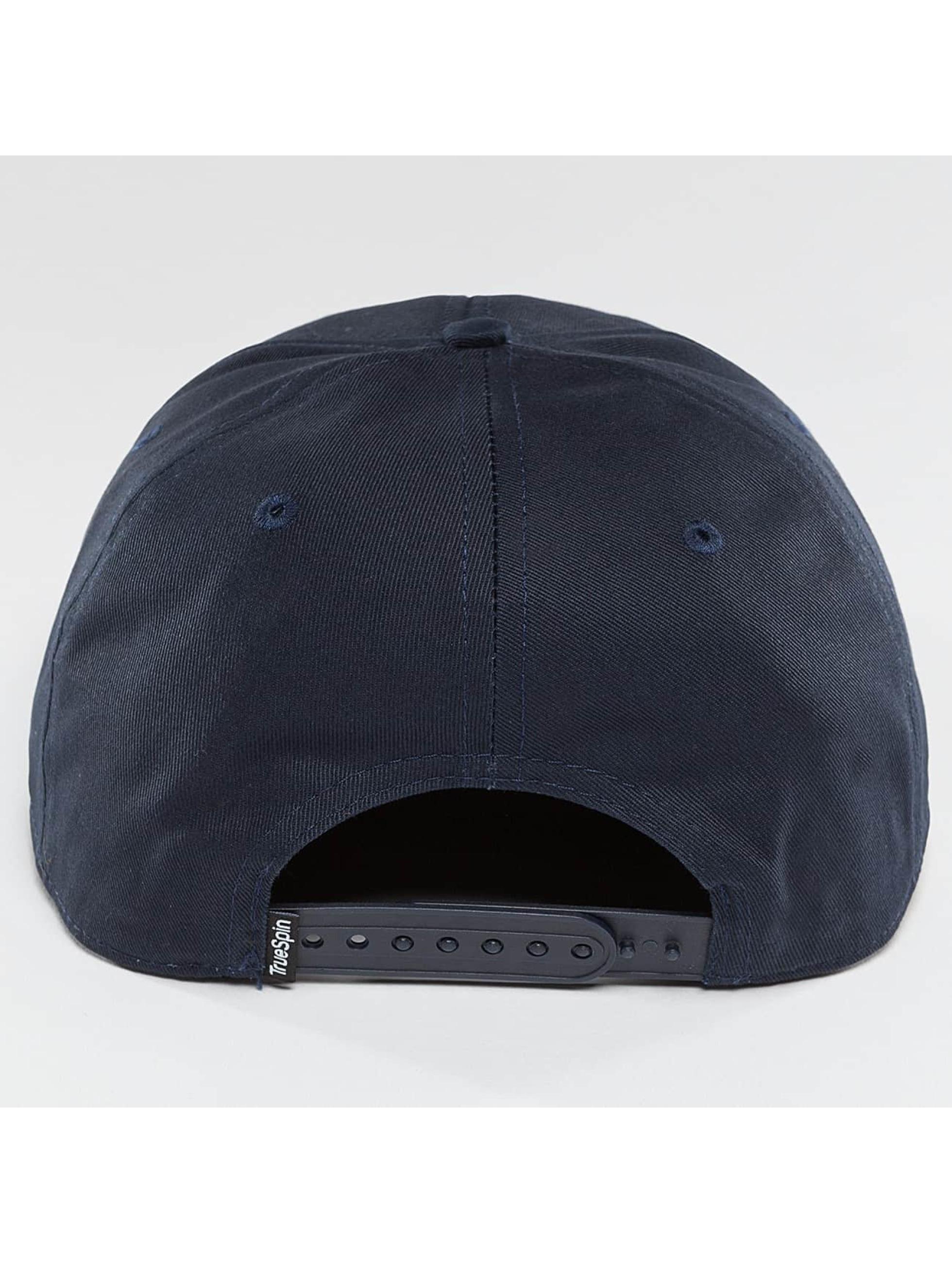 TrueSpin Snapback Caps Täskulap modrý