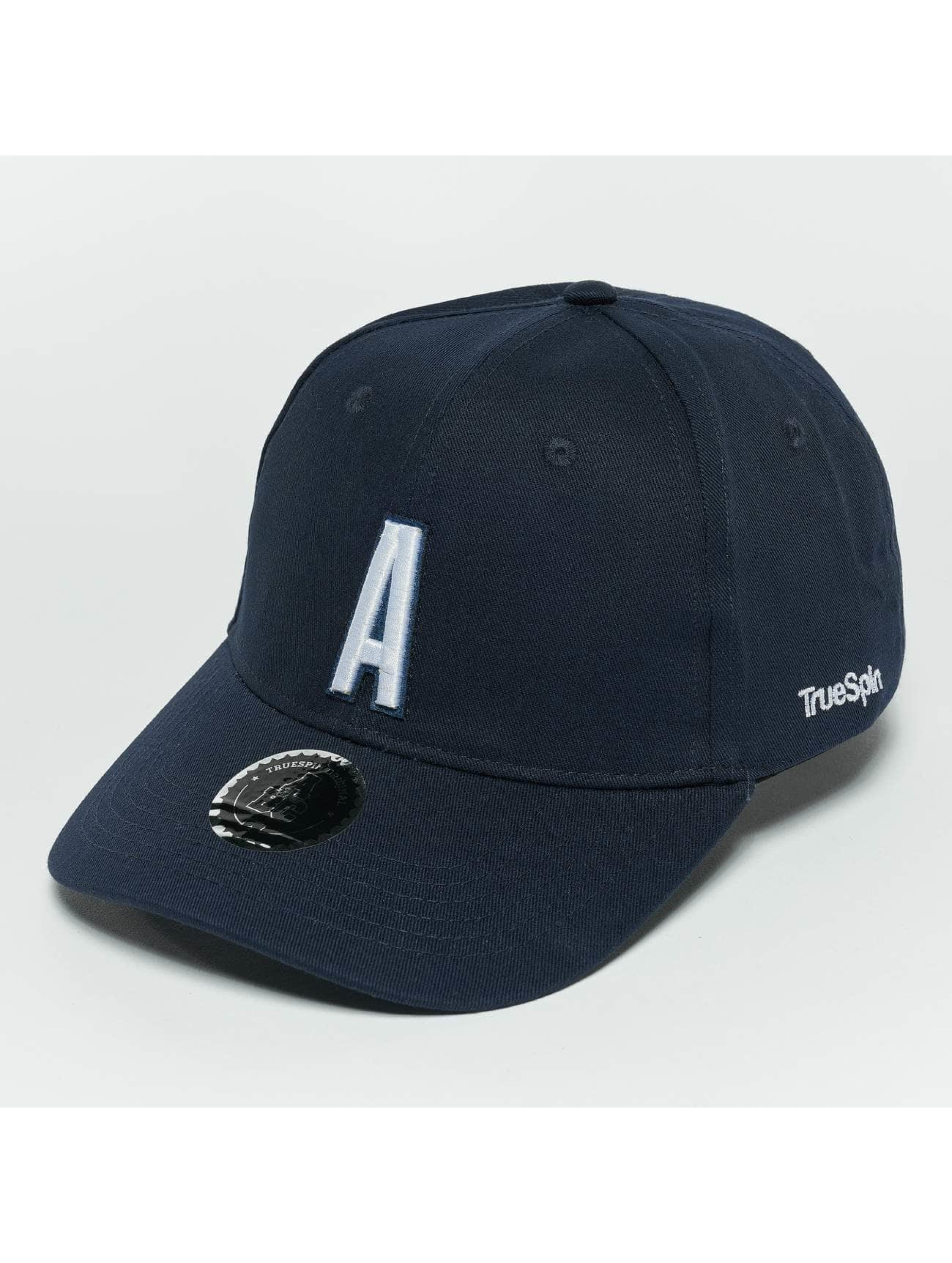 TrueSpin Snapback Caps ABC A modrý