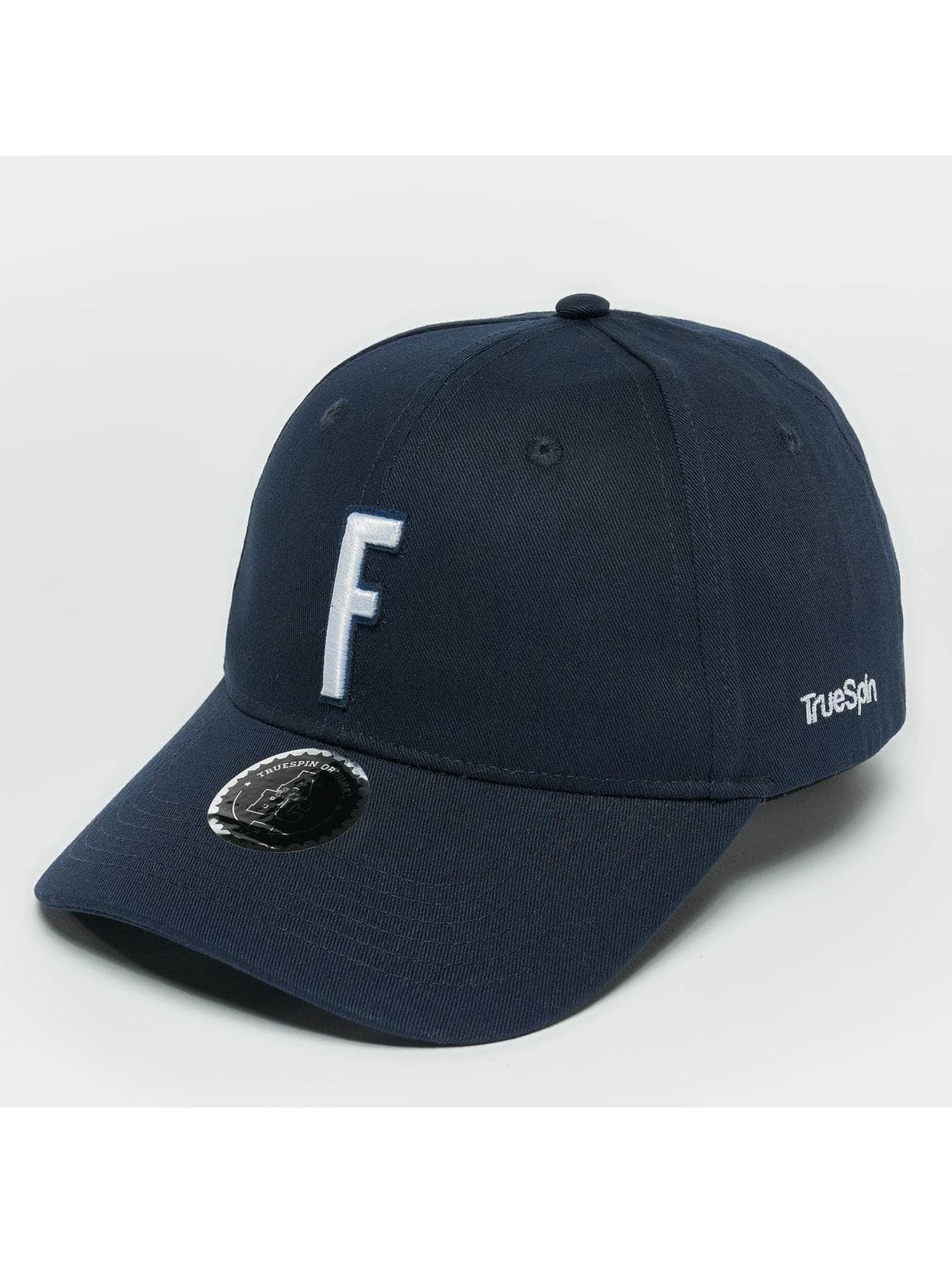 TrueSpin Snapback Caps ABC F modrý