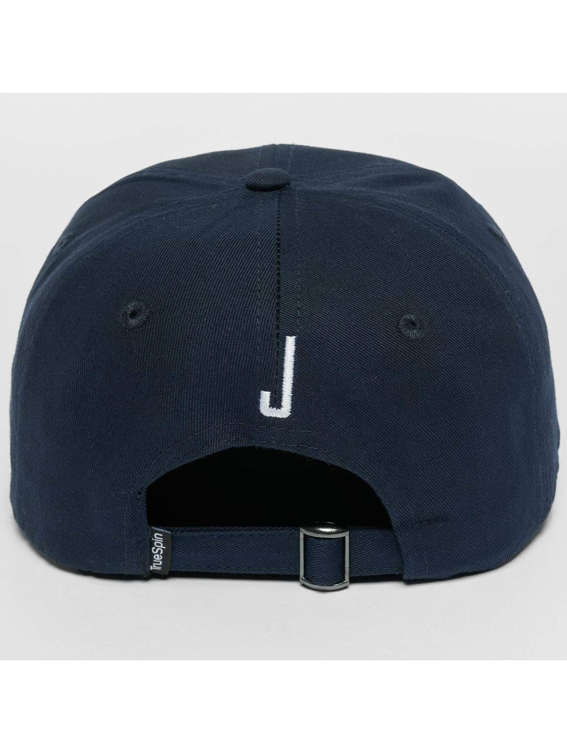 TrueSpin Snapback Caps ABC J modrý