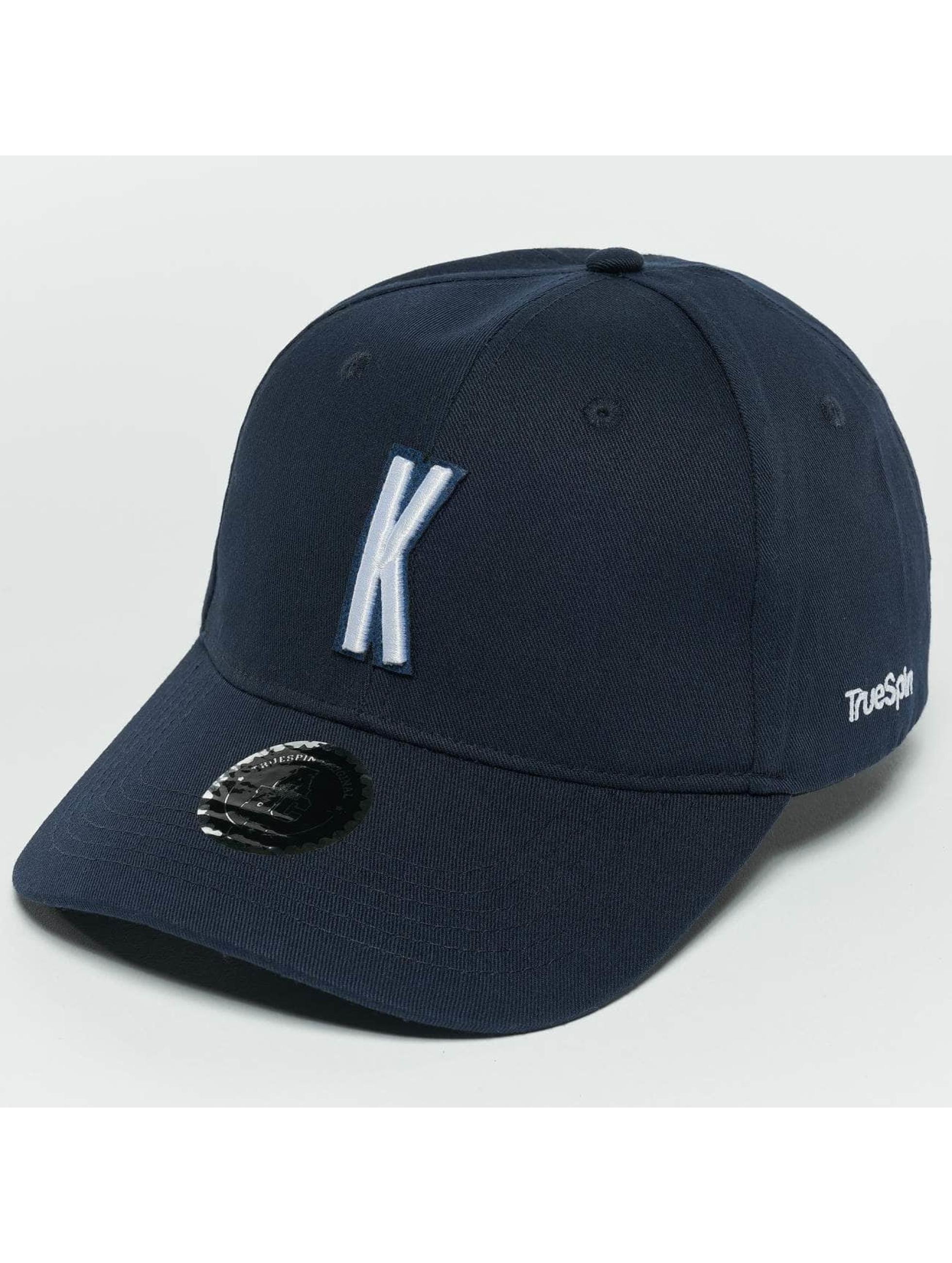 TrueSpin Snapback Caps ABC K modrý