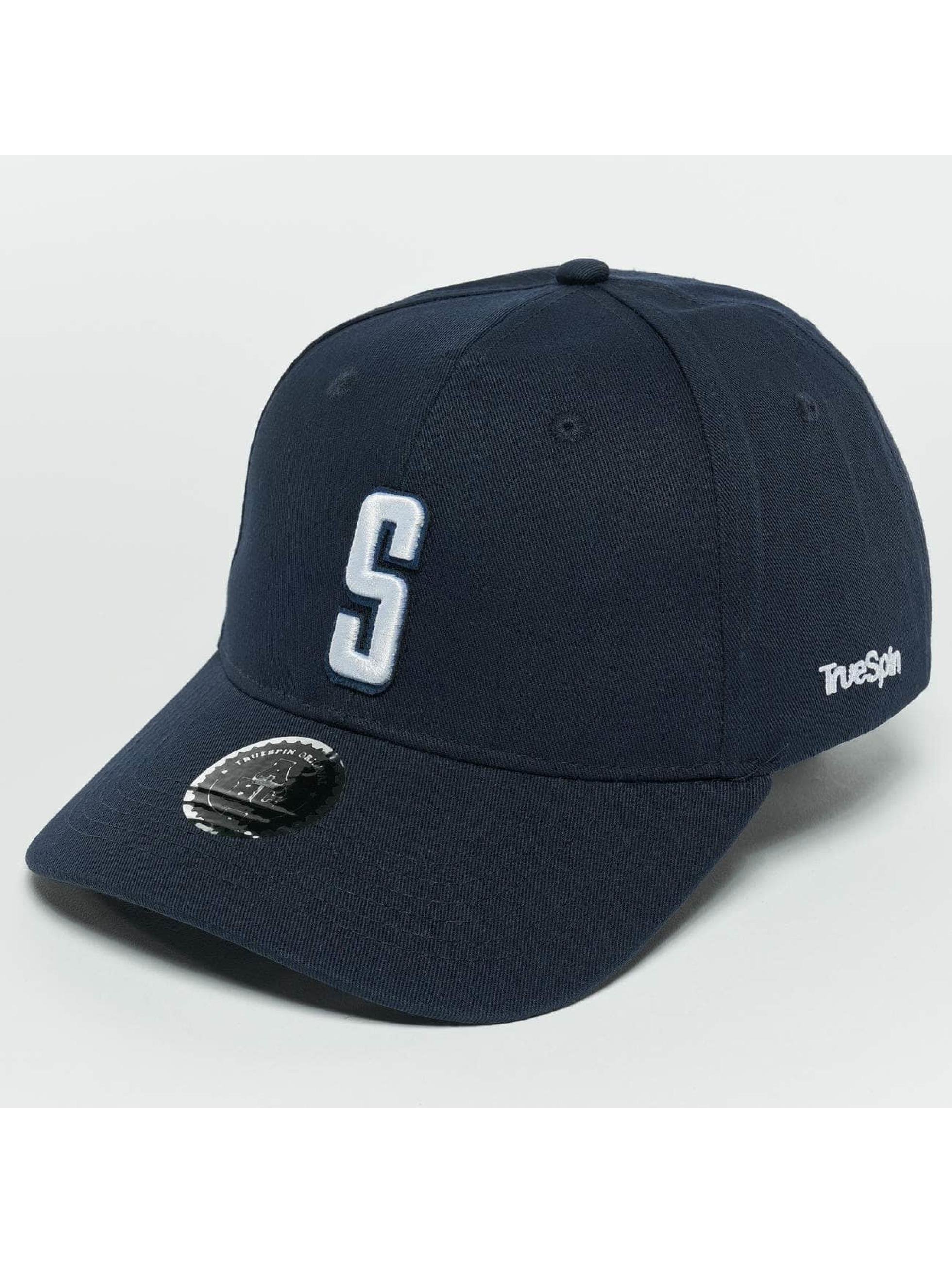 TrueSpin Snapback Caps ABC S modrý