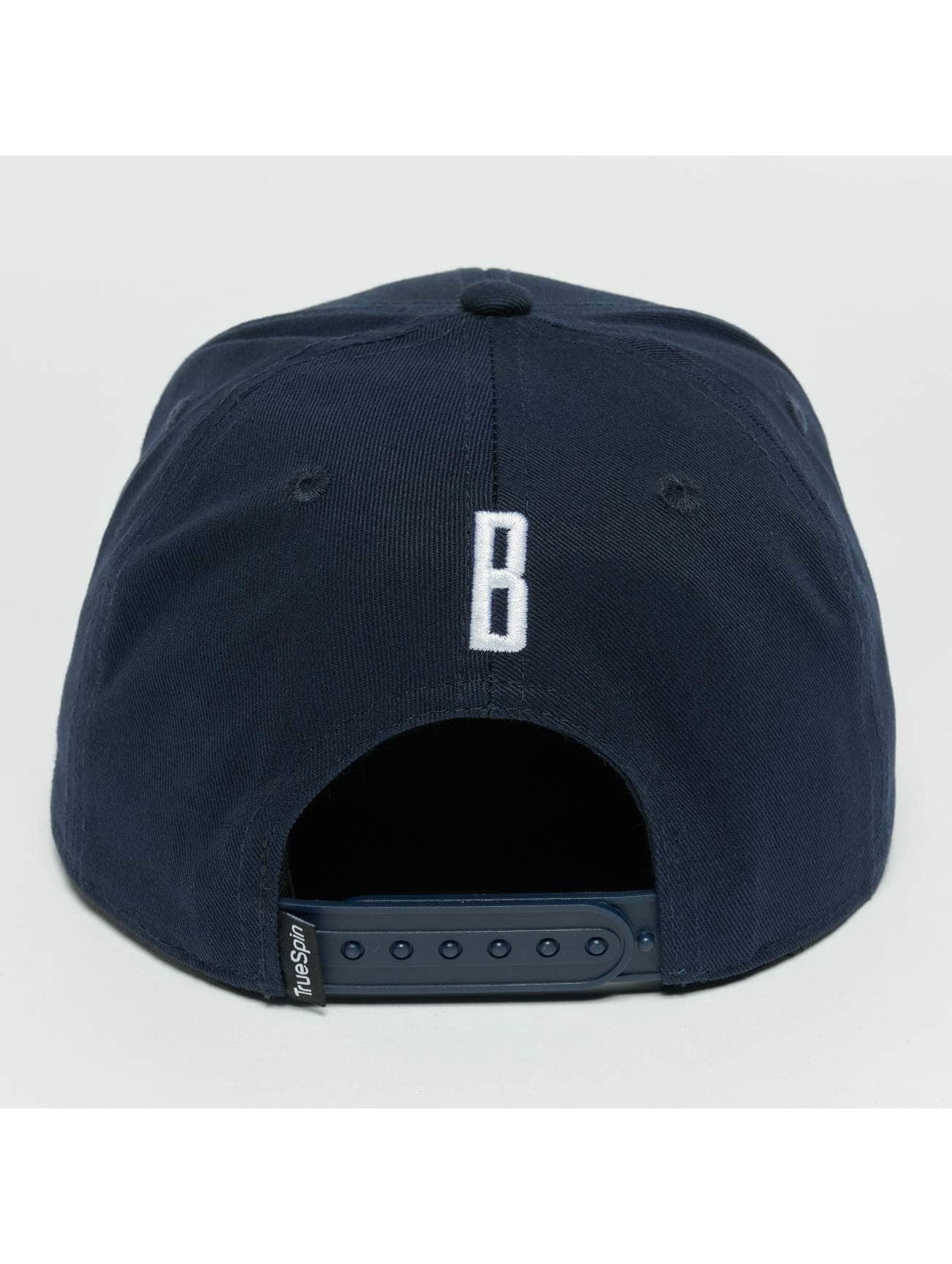 TrueSpin Snapback Caps Kids ABC B modrý