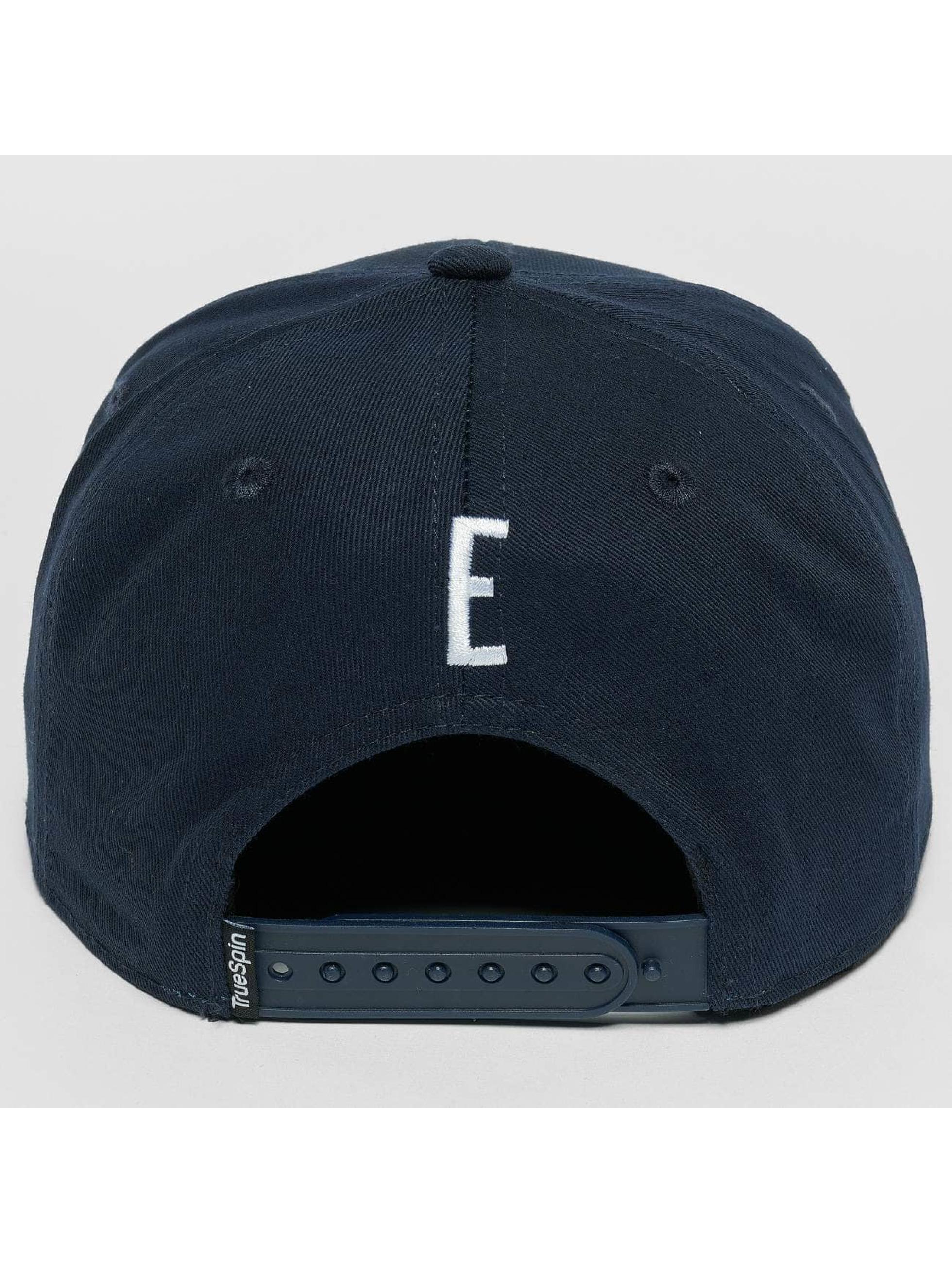 TrueSpin Snapback Caps Kids ABC E modrý