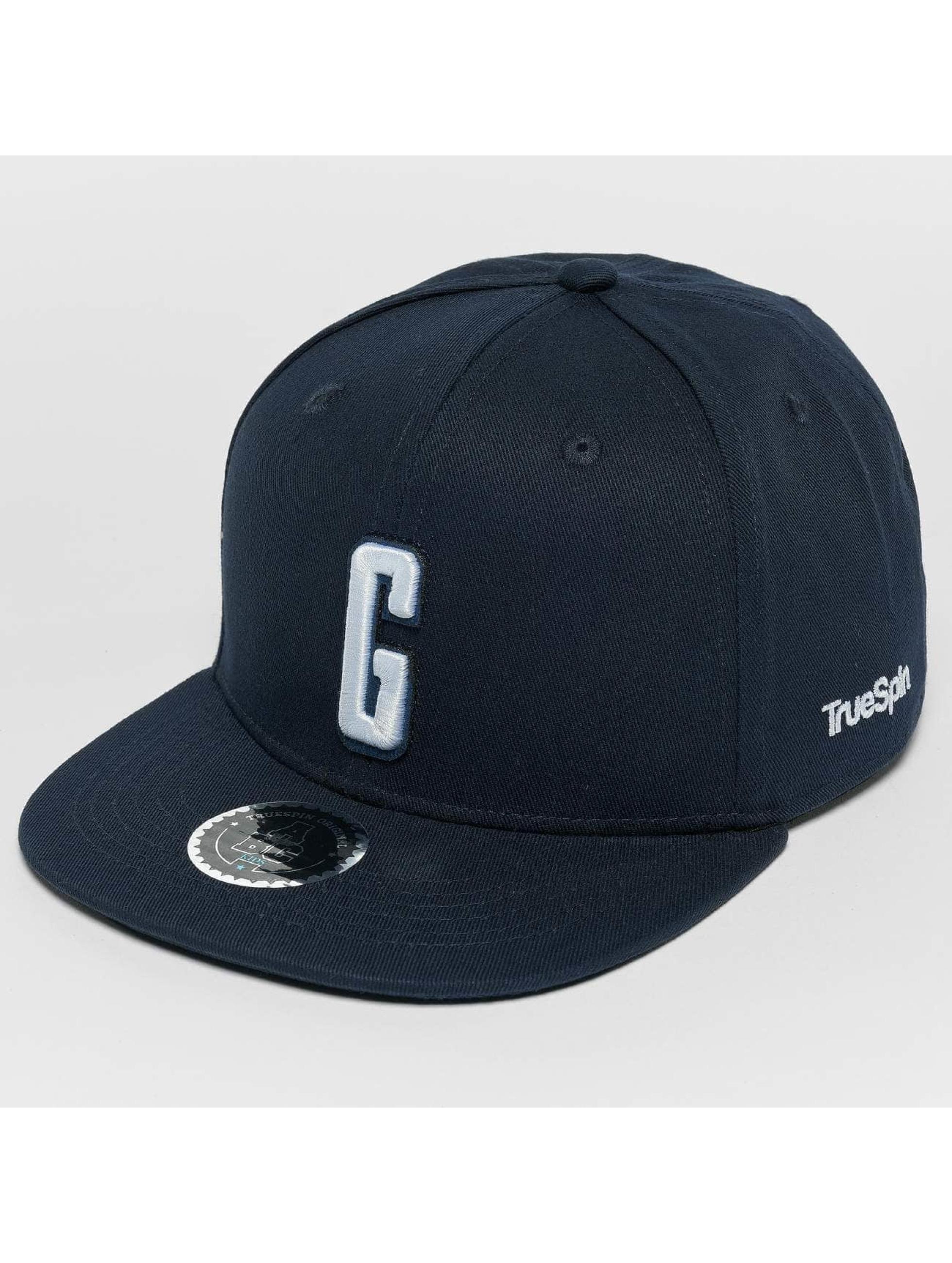 TrueSpin Snapback Caps Kids ABC G modrý