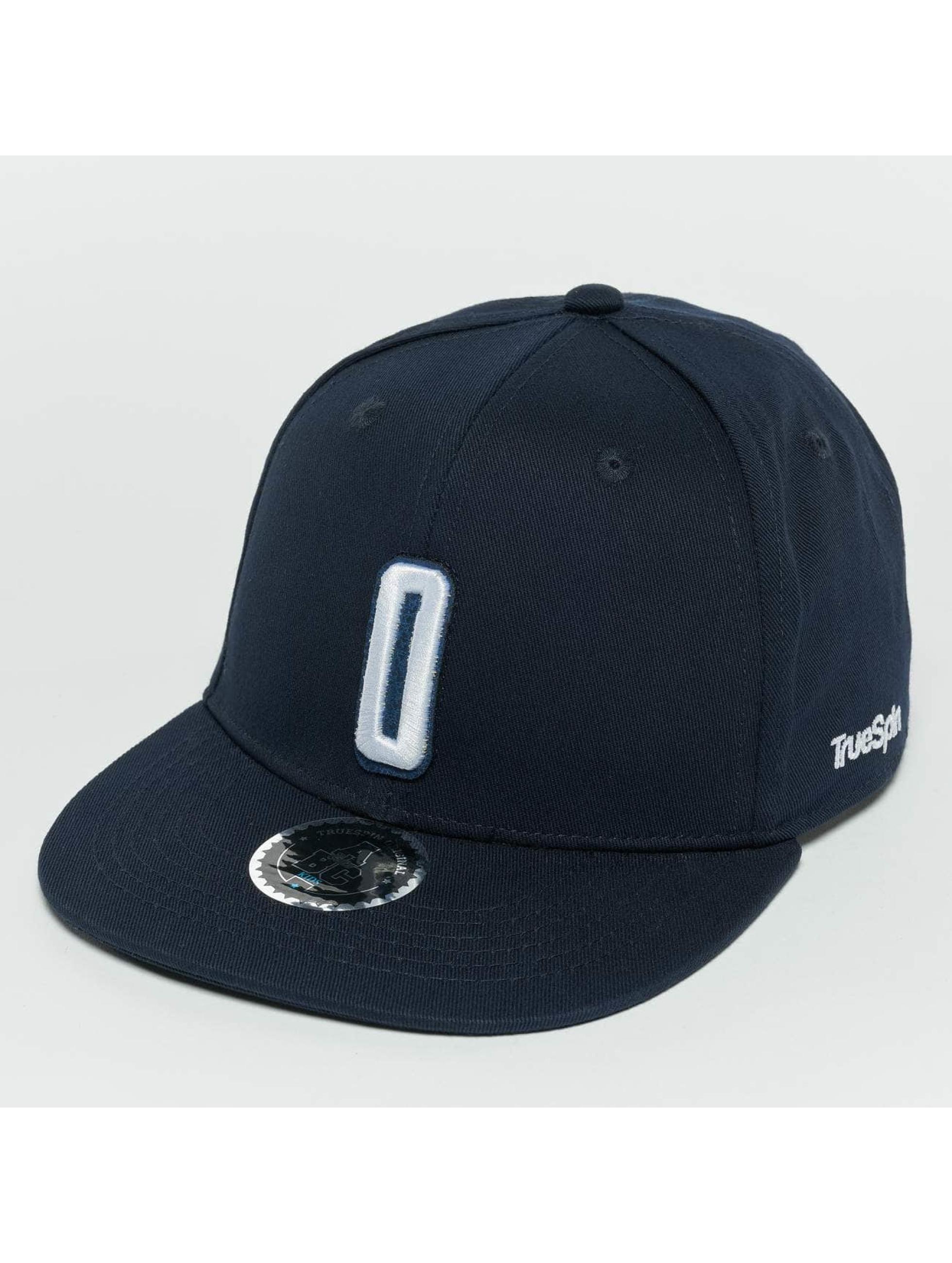 TrueSpin Snapback Caps TSABCKIDZSB modrý