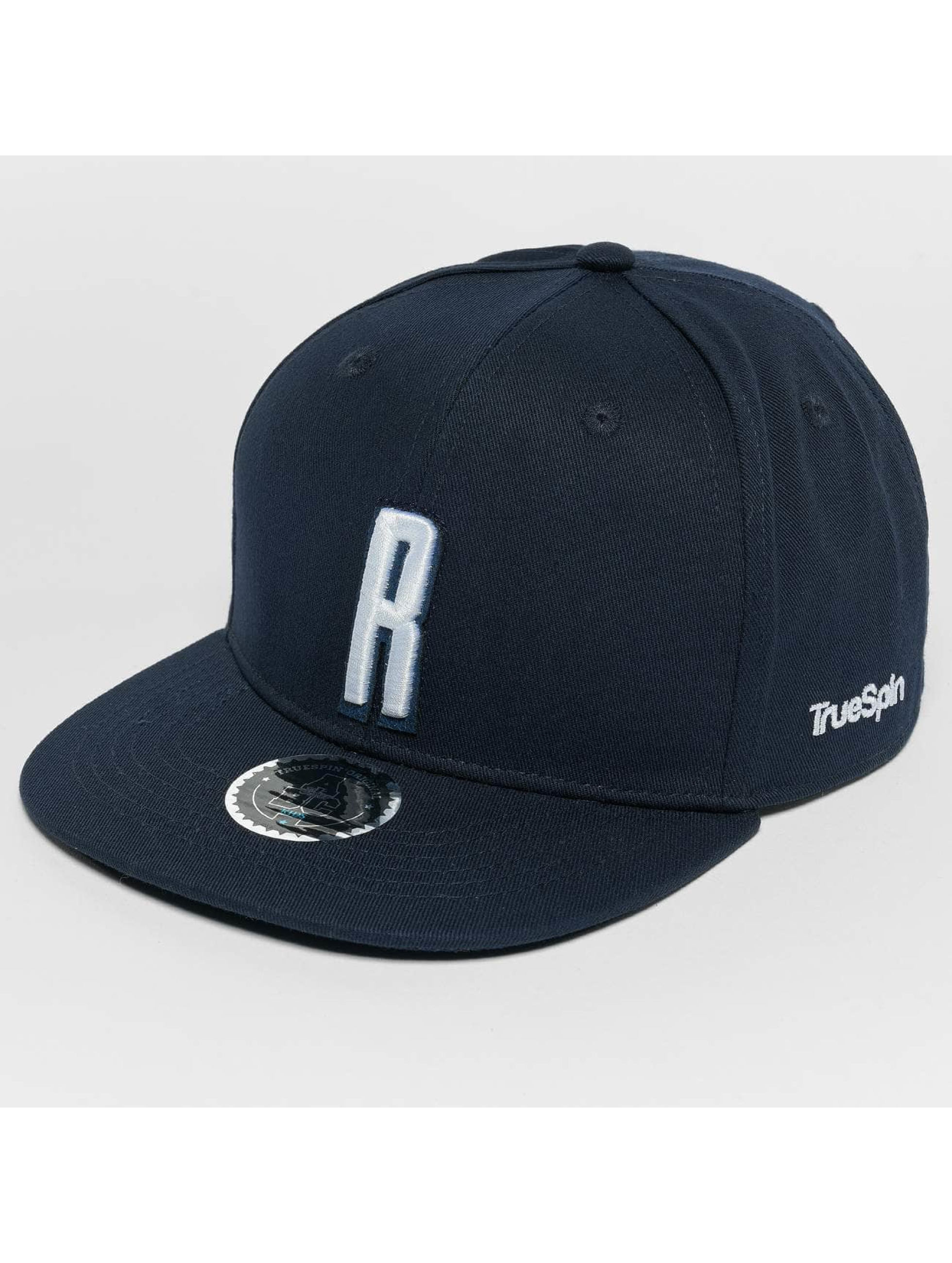 TrueSpin Snapback Caps Kids ABC R modrý