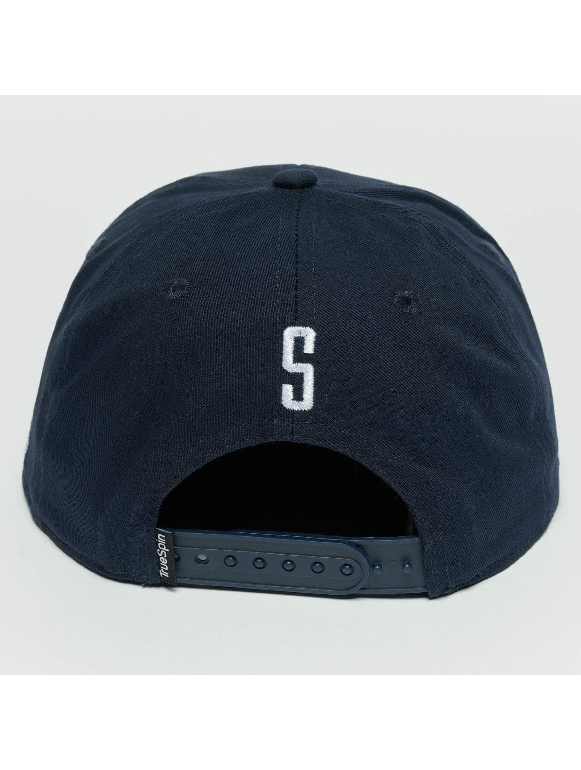 TrueSpin Snapback Caps Kids ABC S modrý