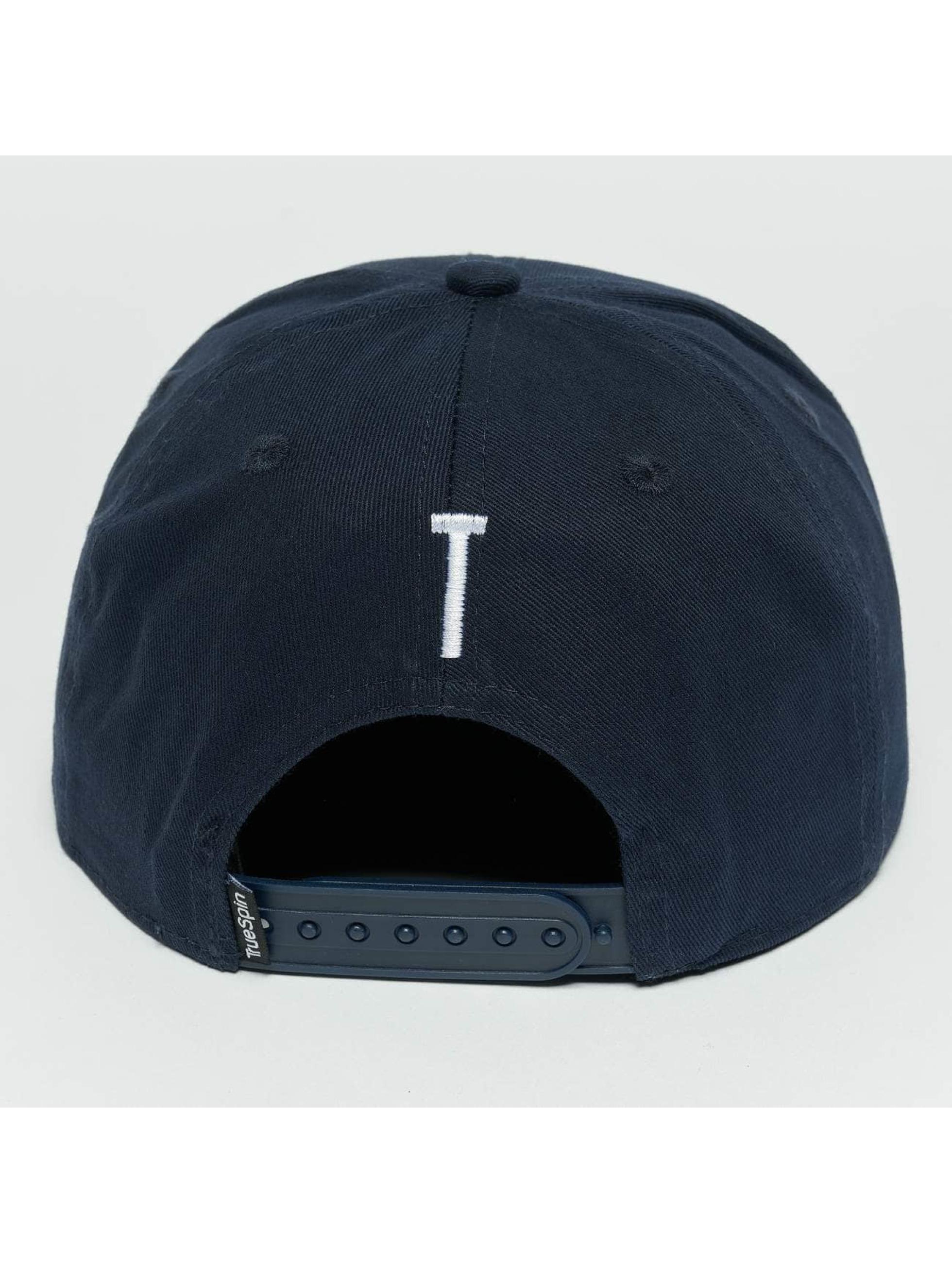 TrueSpin Snapback Caps Kids ABC T modrý