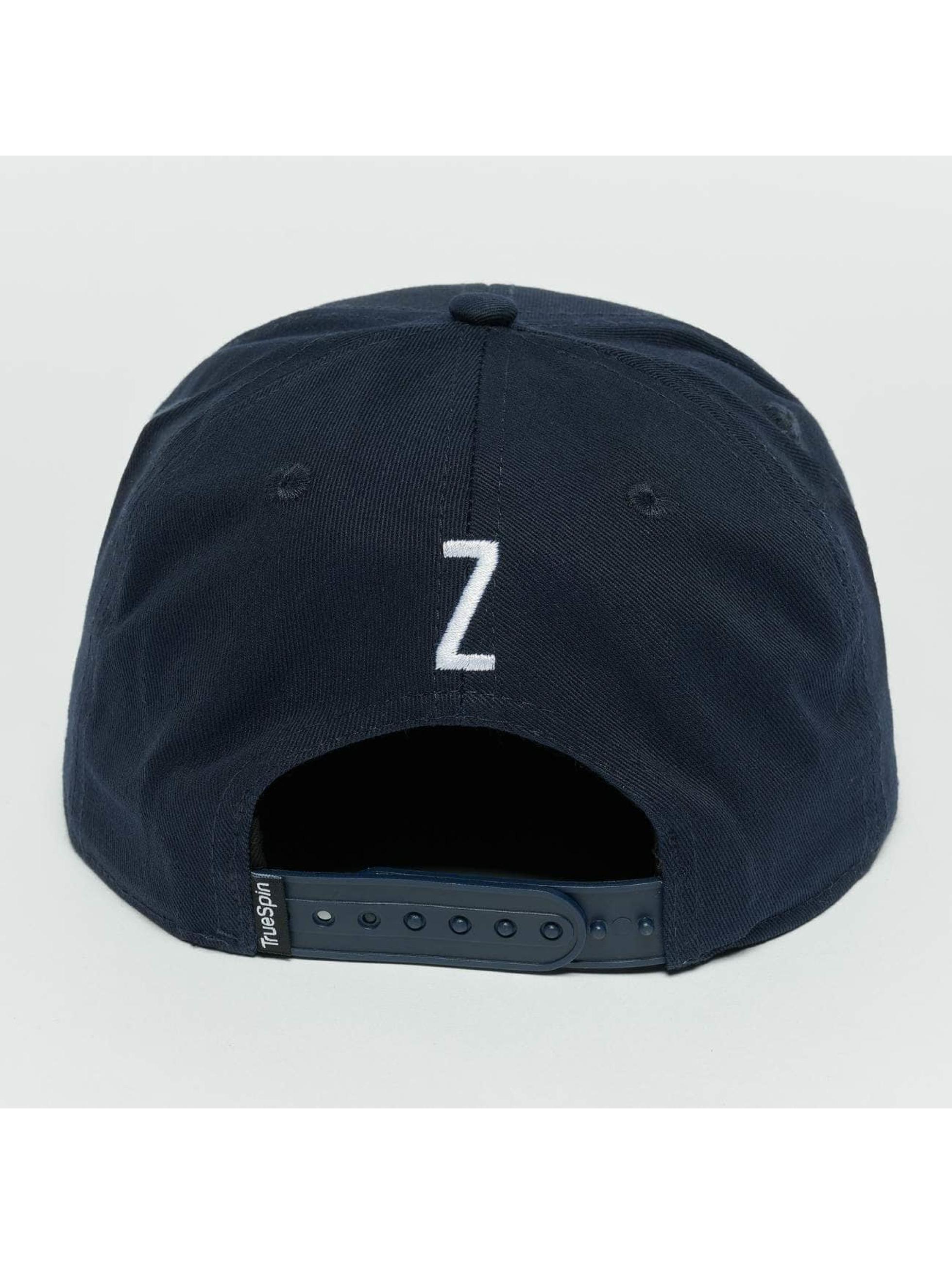 TrueSpin Snapback Caps Kids ABC Z modrý