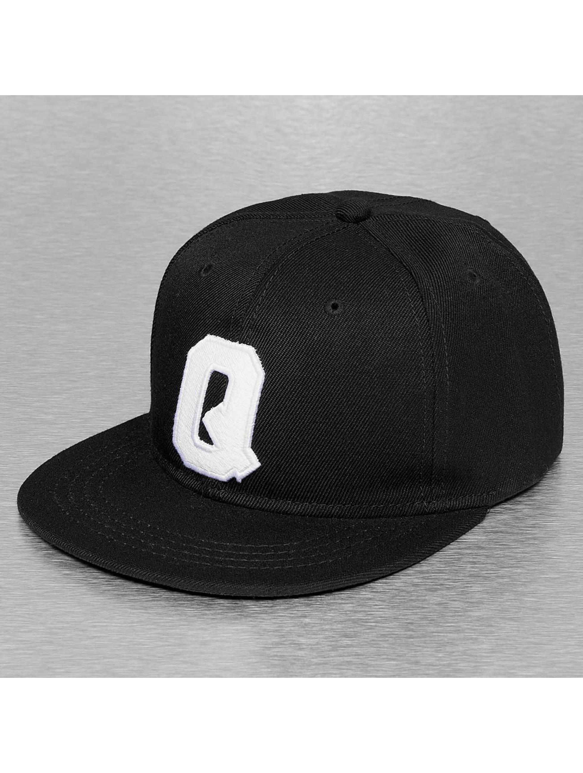 TrueSpin Snapback Caps Q-ABC musta