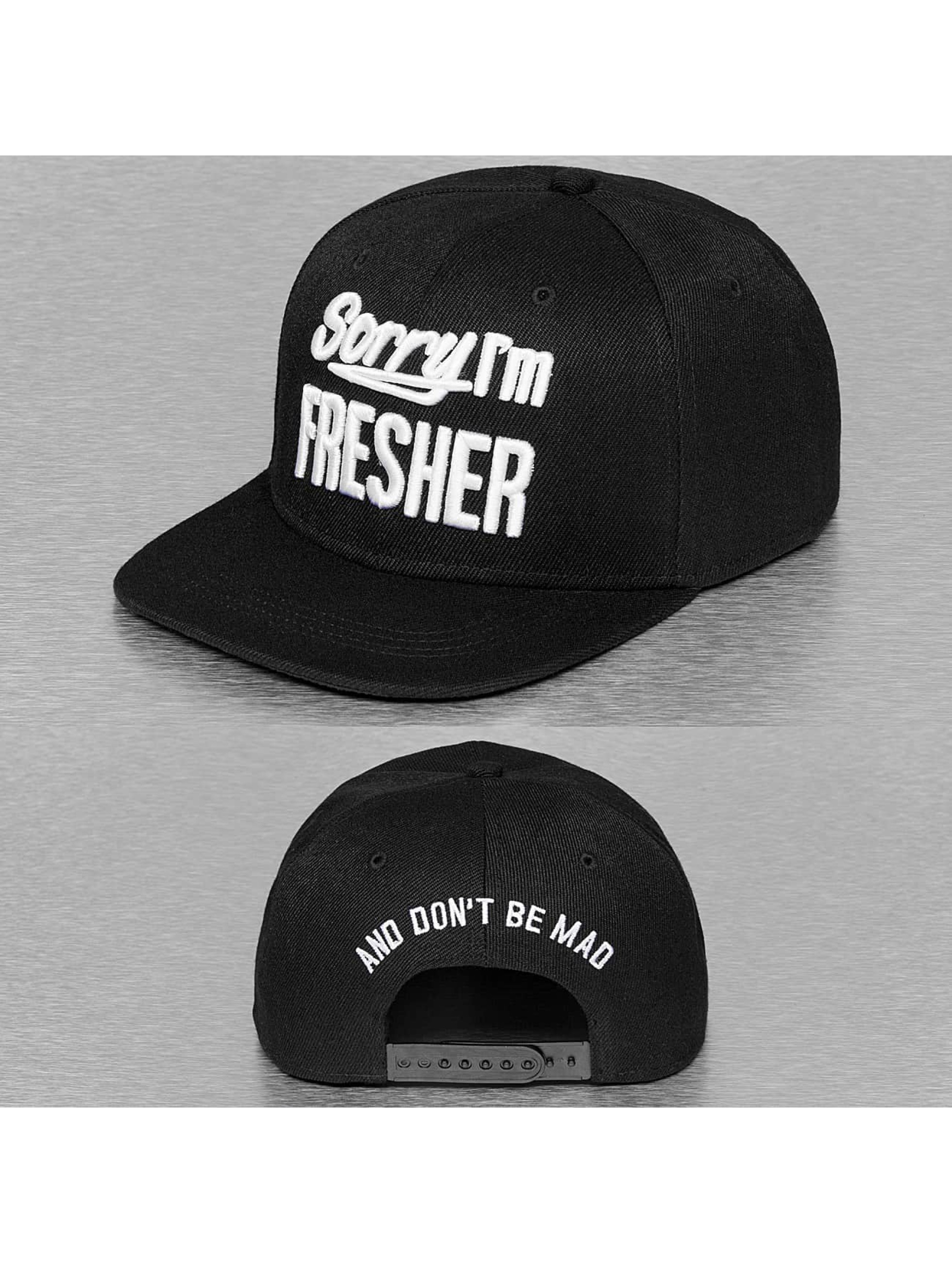 TrueSpin Snapback Caps Sorry Im Fresher musta