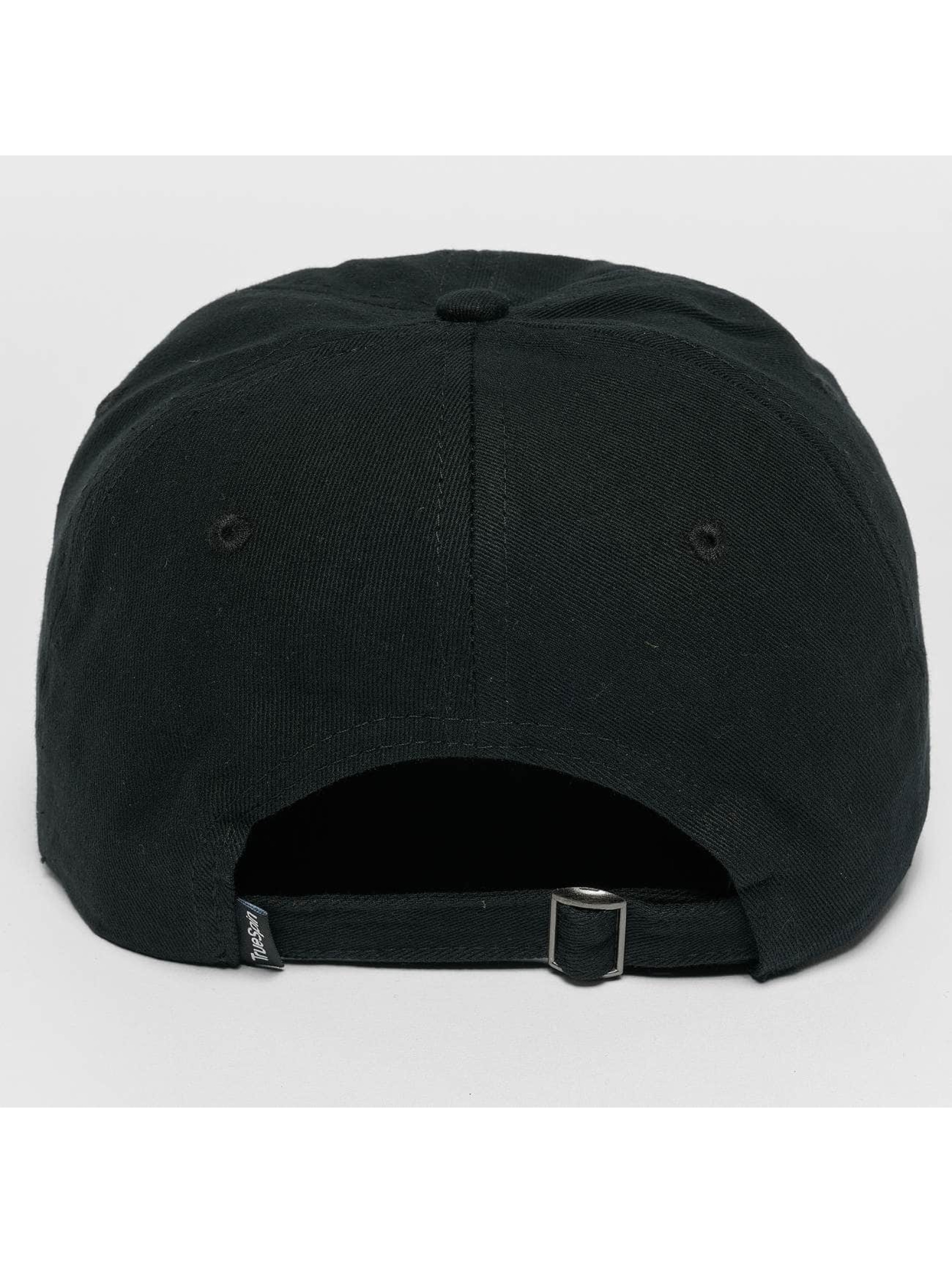 TrueSpin Snapback Caps Tuned Round musta