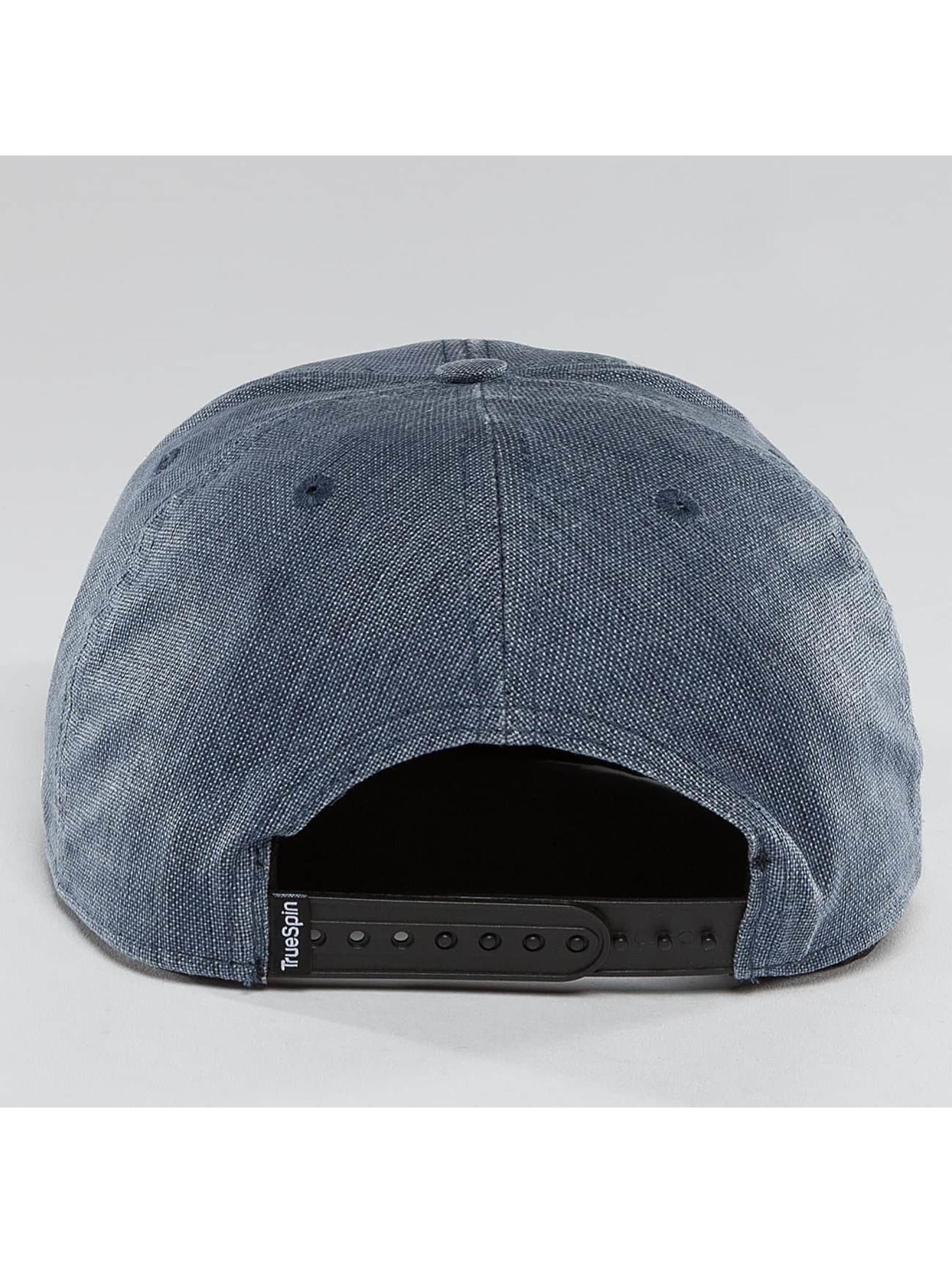 TrueSpin Snapback Caps Laurel niebieski