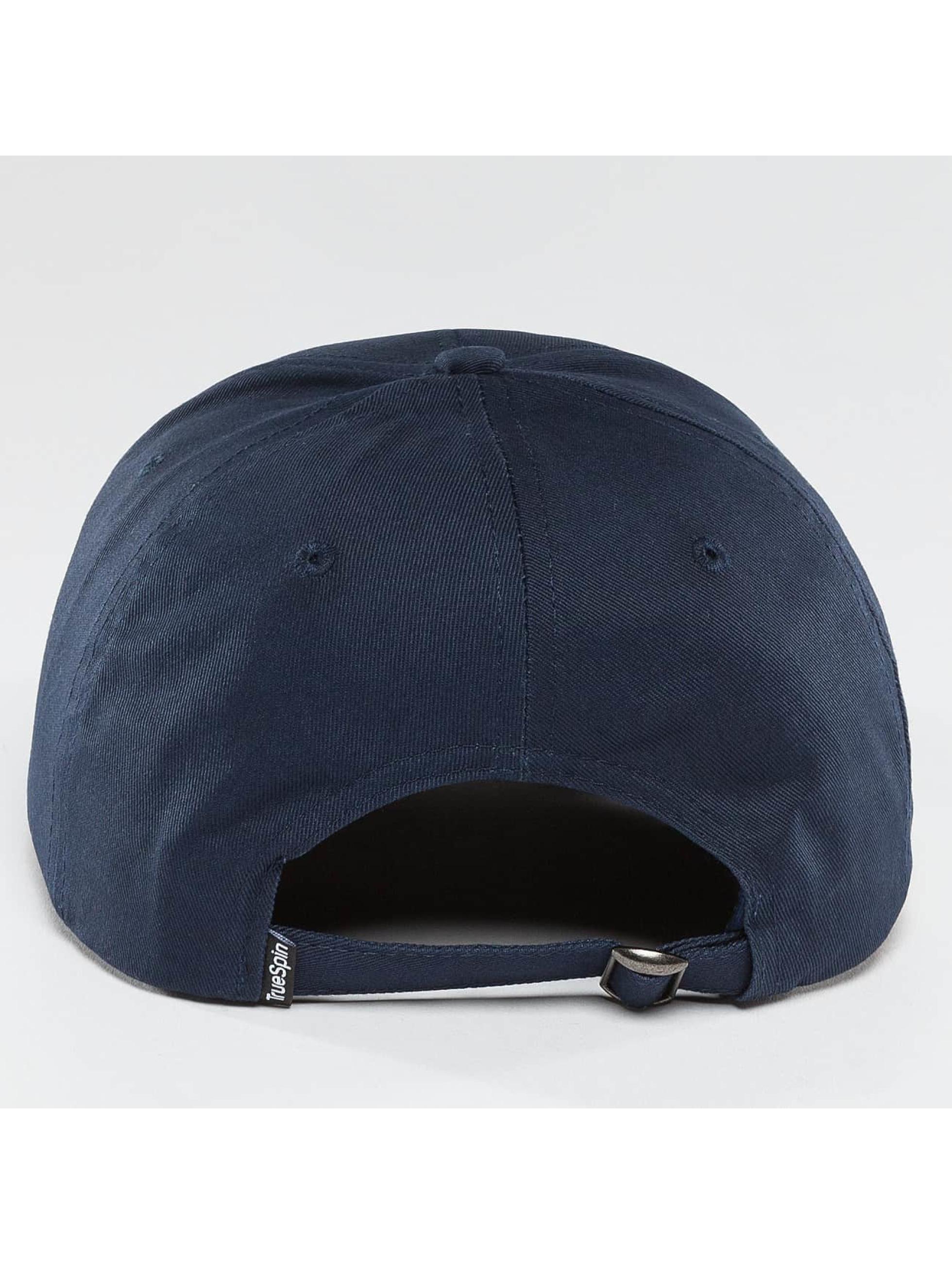 TrueSpin Snapback Caps Blank niebieski