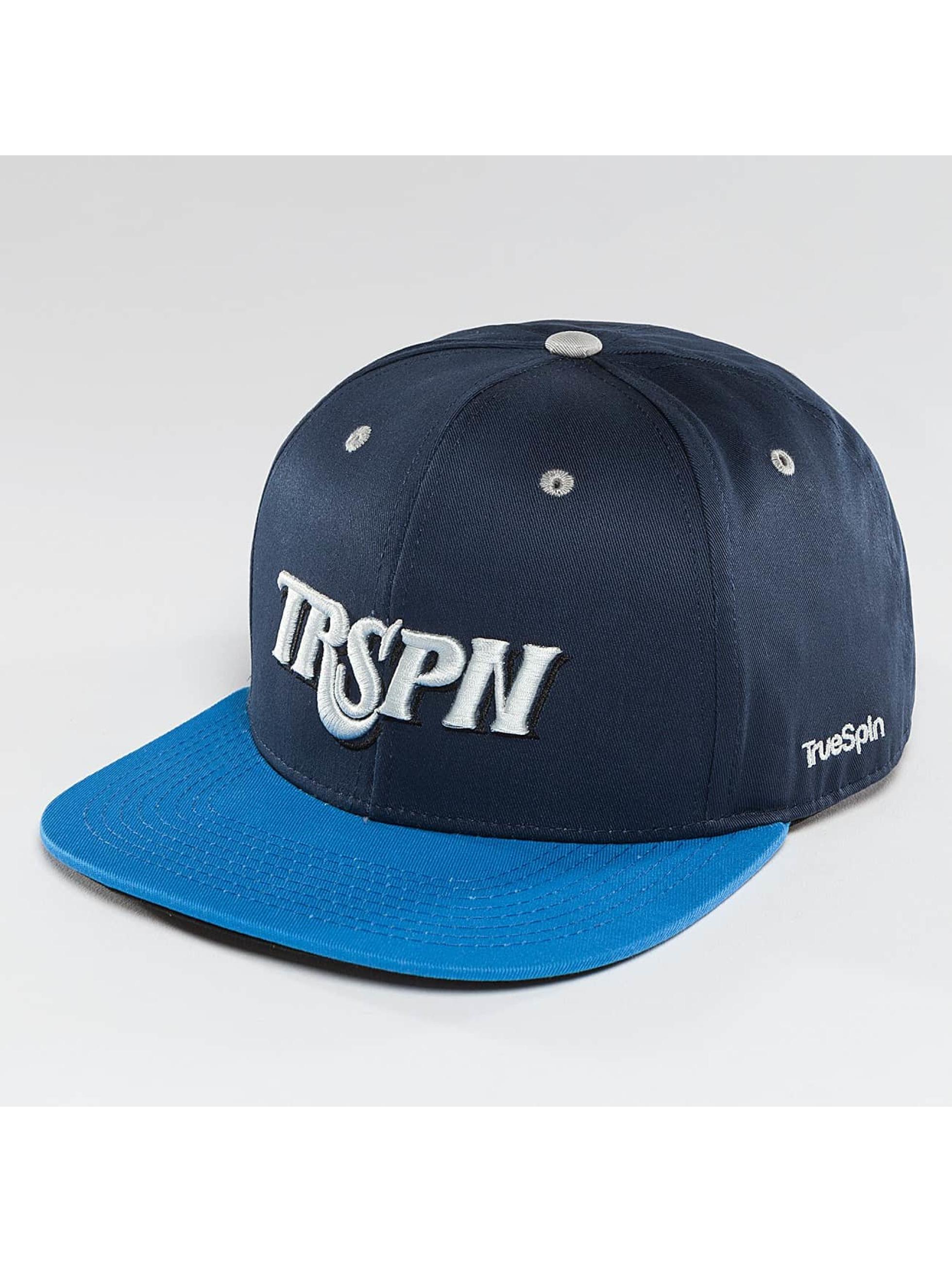 TrueSpin Snapback Caps Team TRSPN niebieski