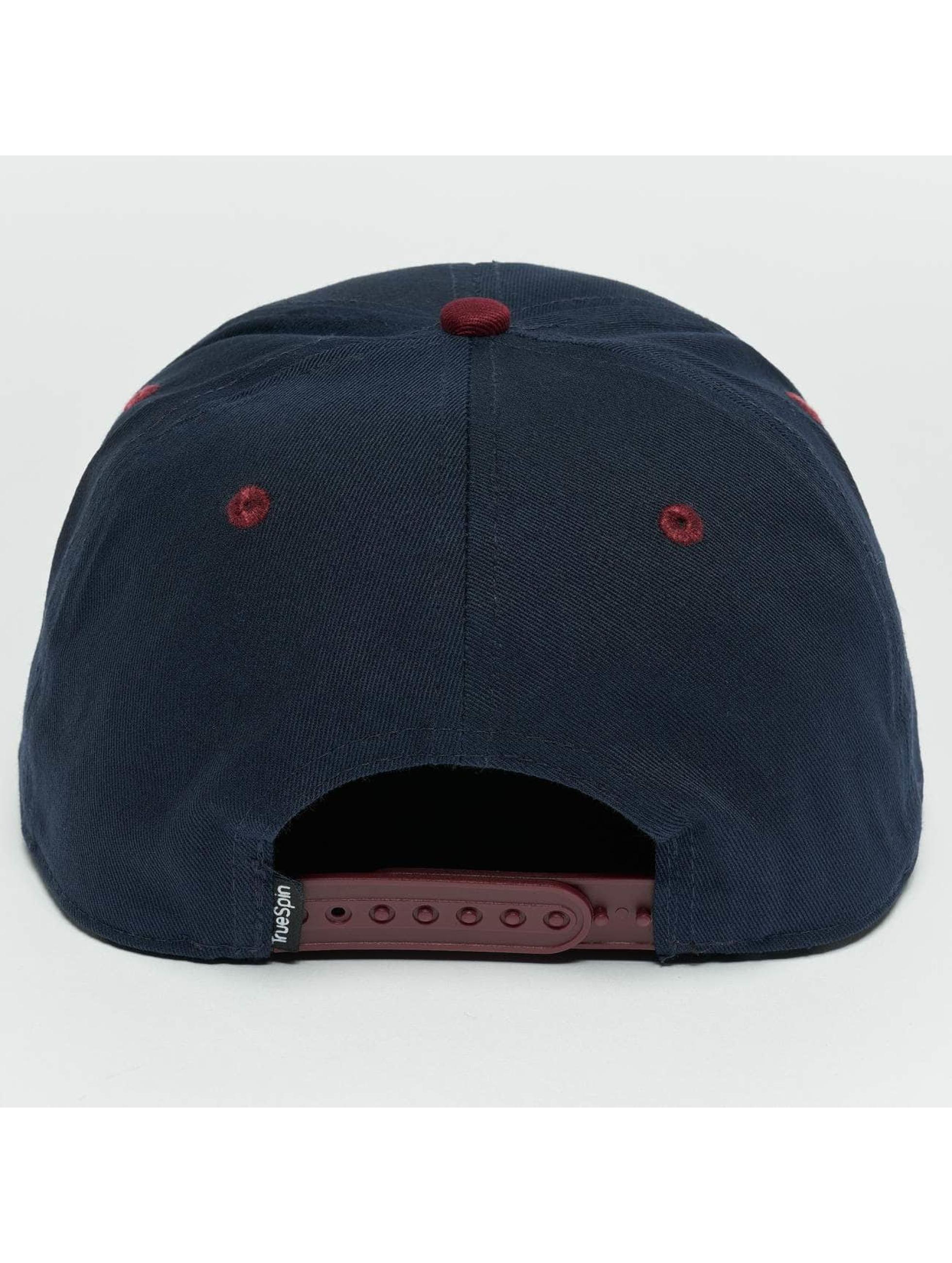 TrueSpin Snapback Caps Next Level 2 niebieski