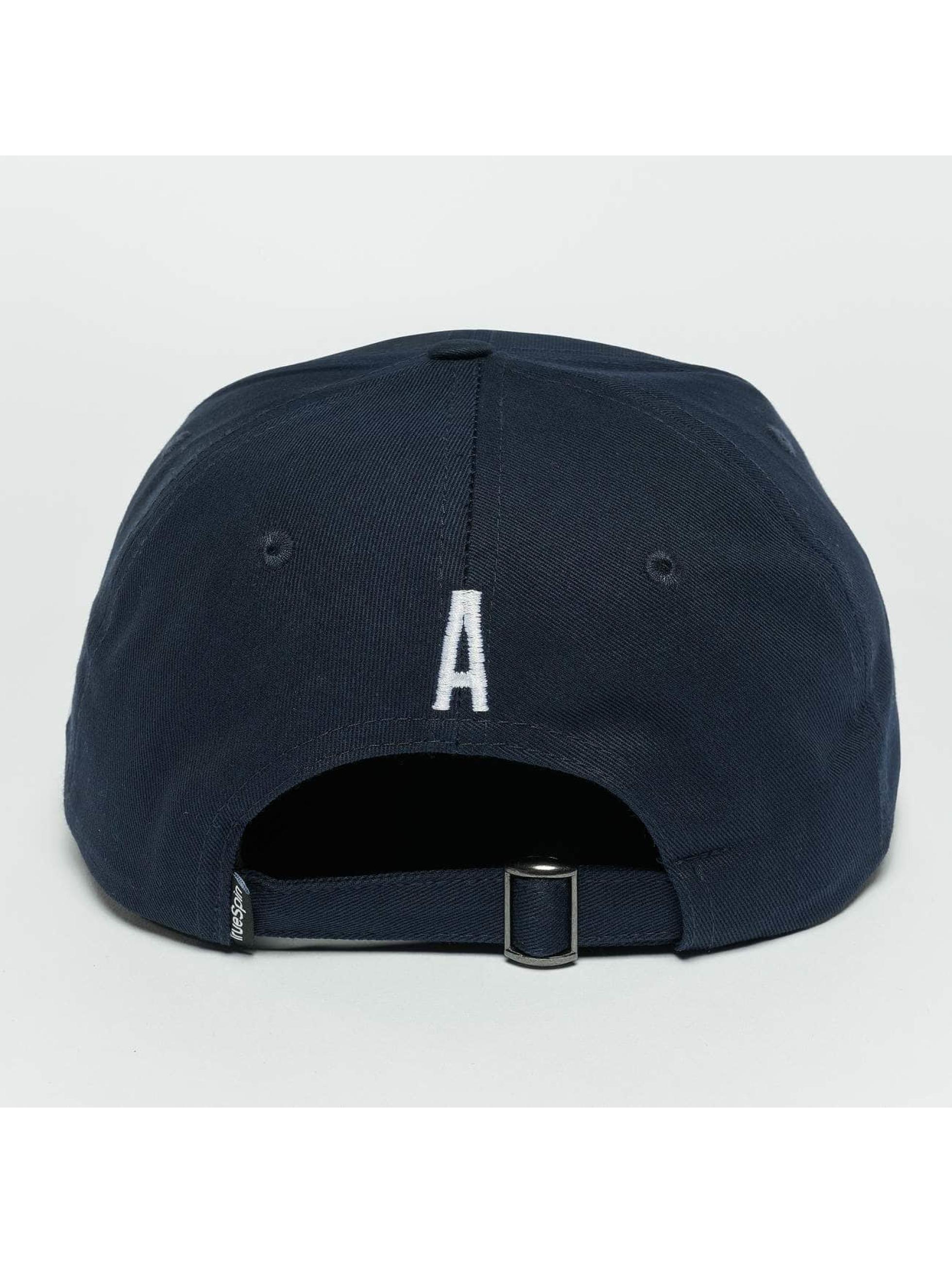 TrueSpin Snapback Caps ABC A niebieski