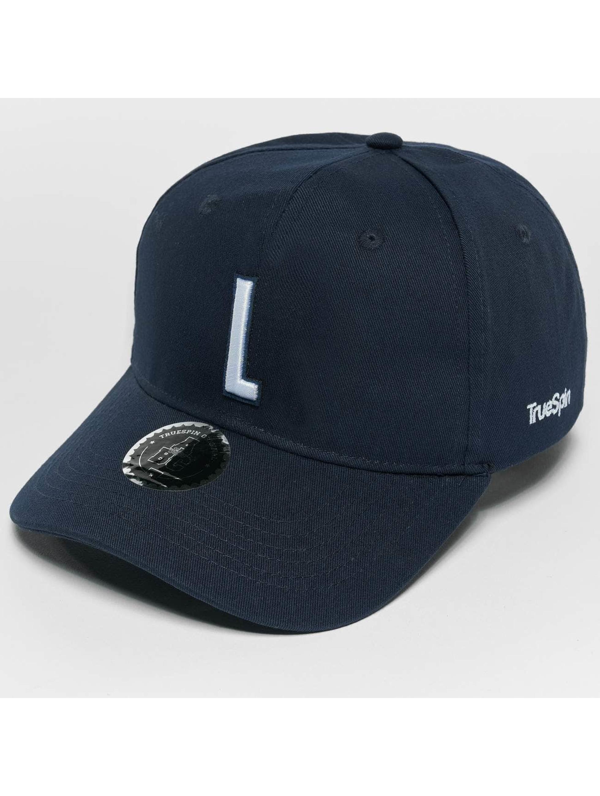 TrueSpin Snapback Caps ABC L niebieski