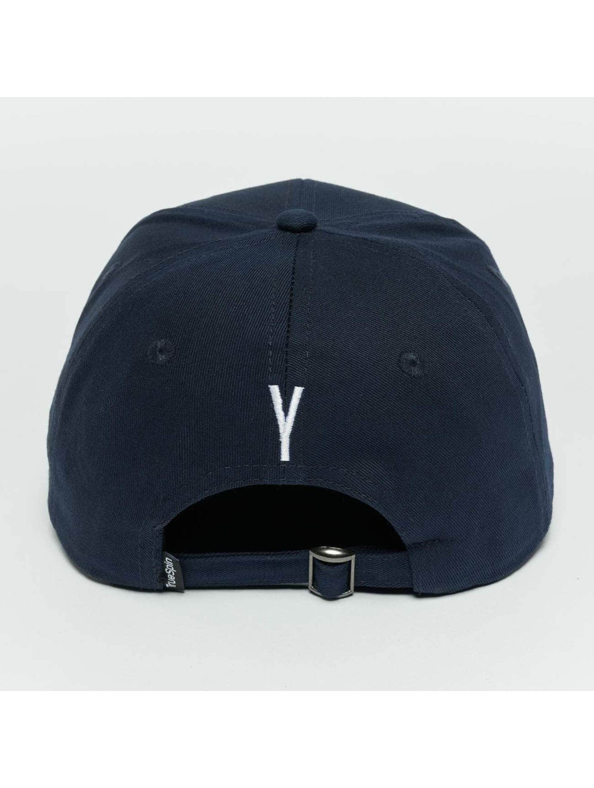 TrueSpin Snapback Caps ABC Y niebieski