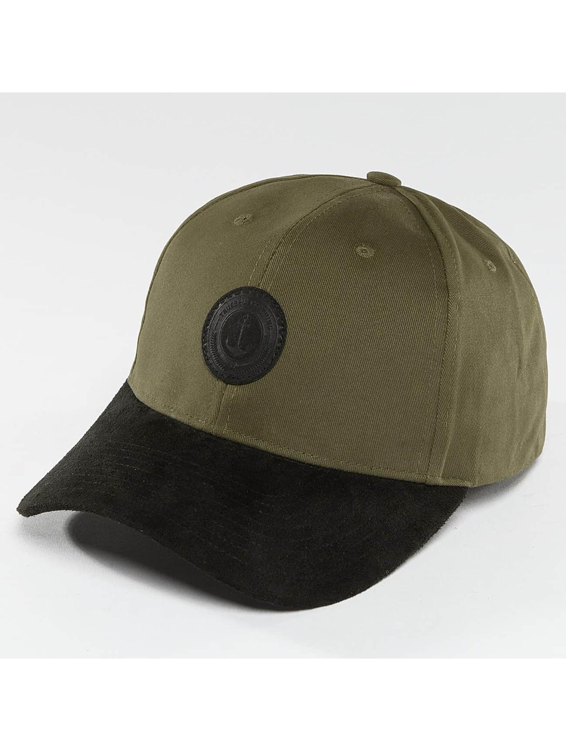 TrueSpin Snapback Caps Anker oliivi