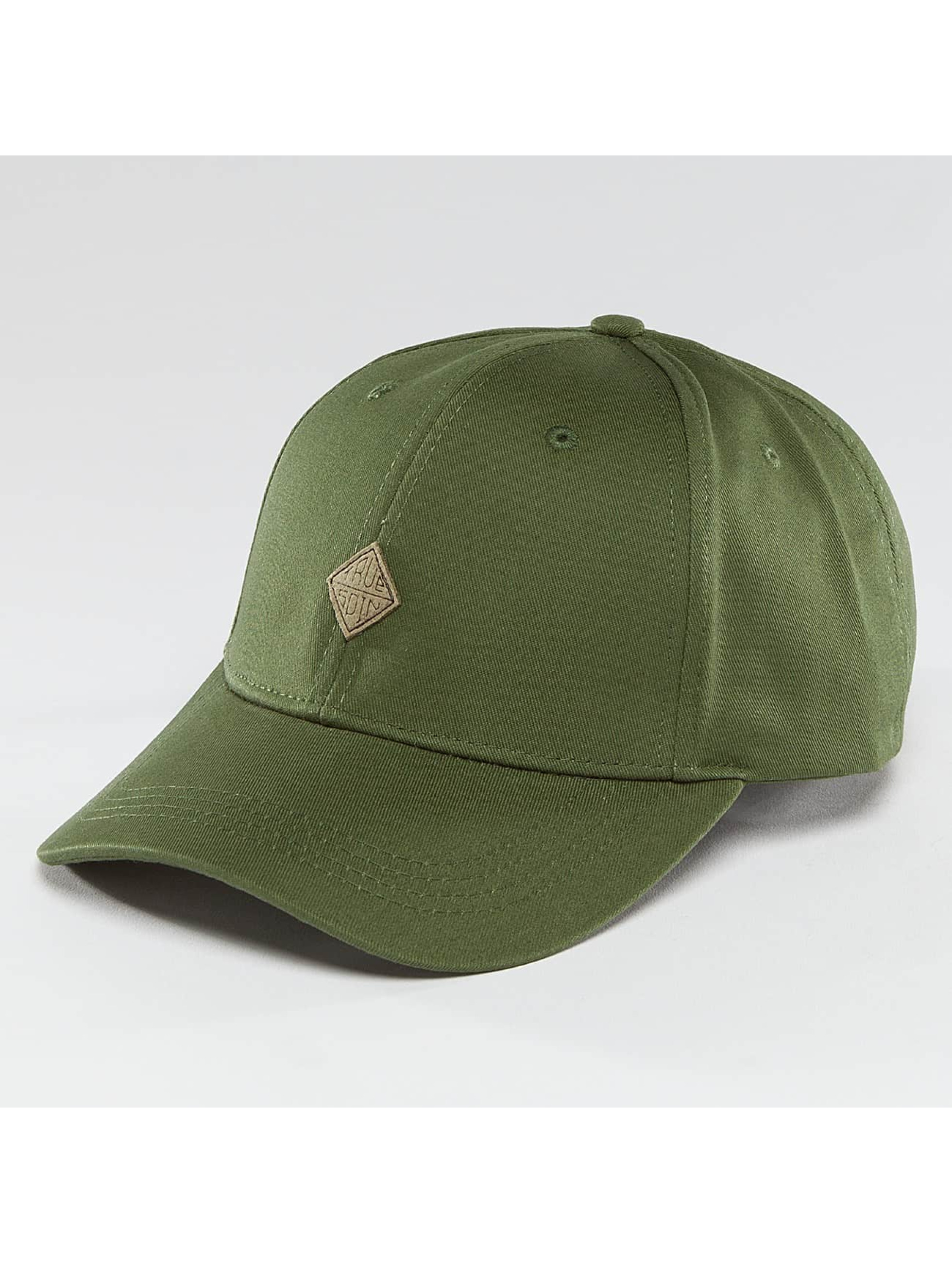 TrueSpin Snapback Caps Truely Small olivový