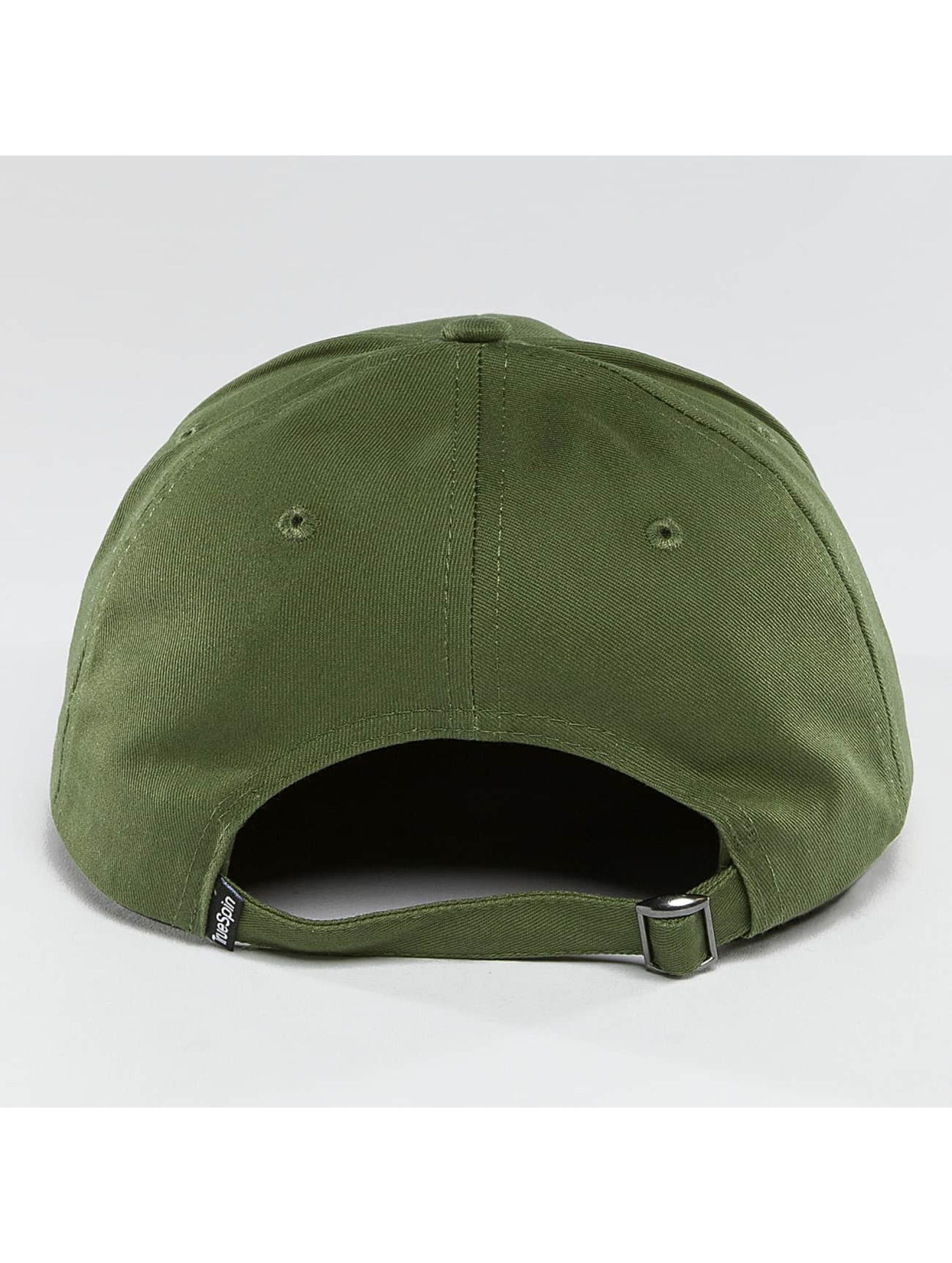 TrueSpin Snapback Caps Truely Small oliwkowy