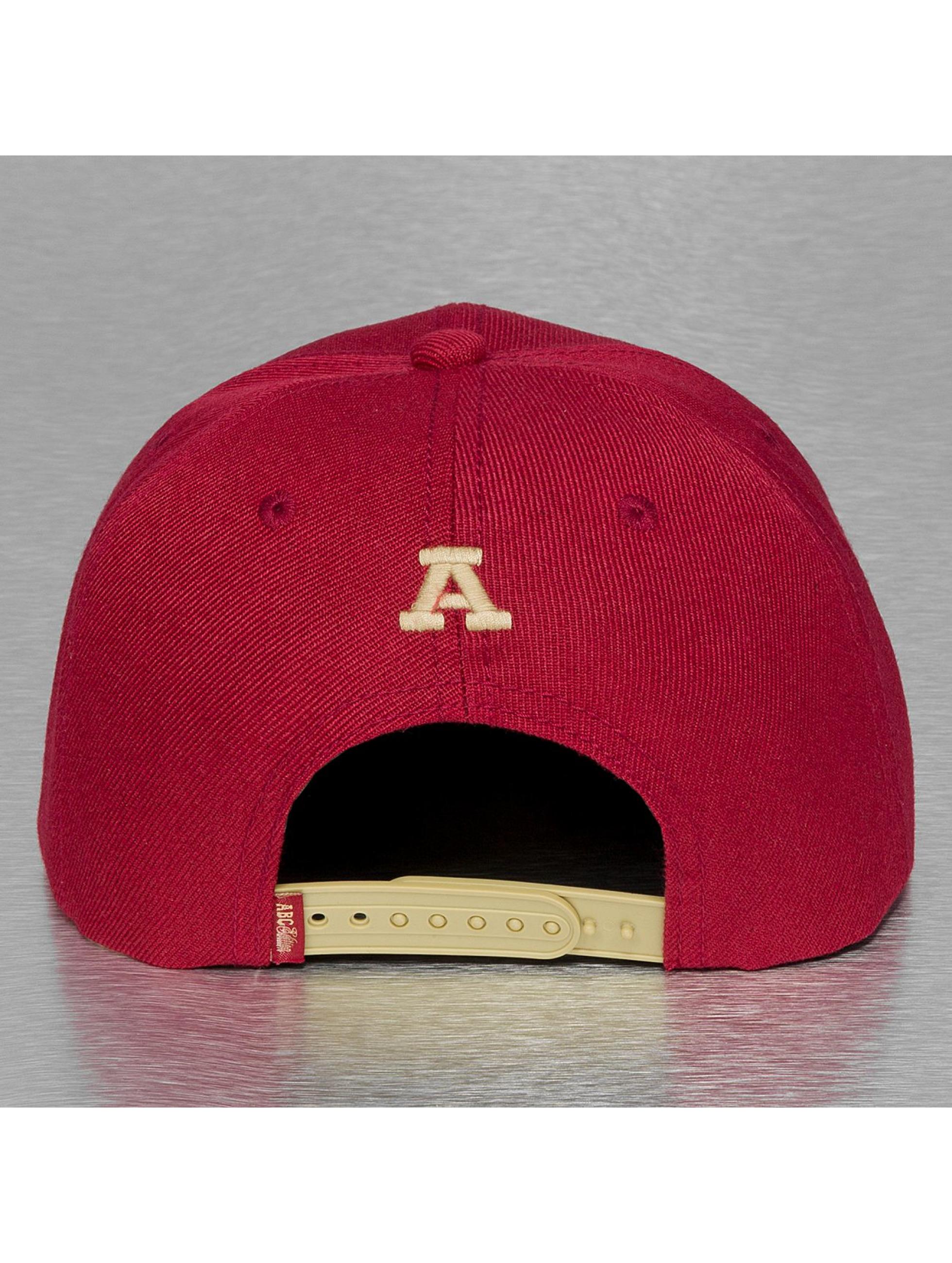 TrueSpin Snapback Caps A-ABC Edition punainen