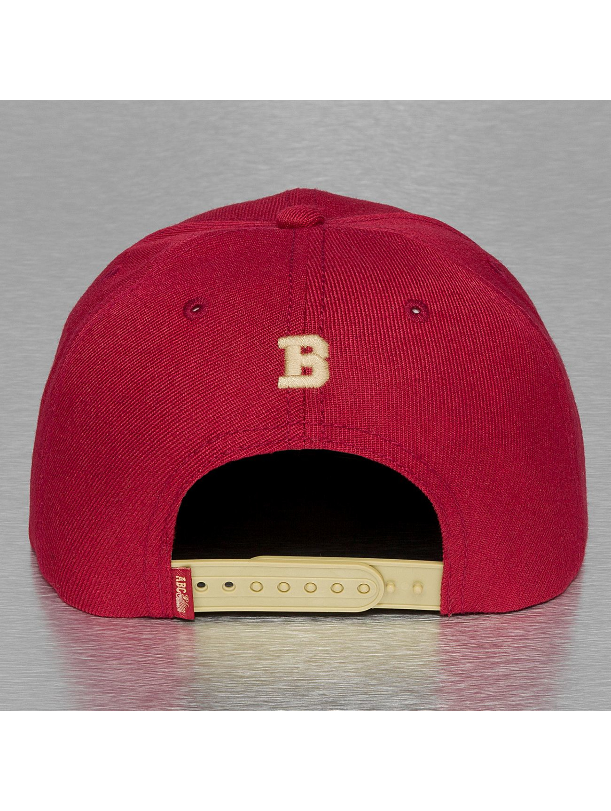 TrueSpin Snapback Caps B-ABC Edition punainen