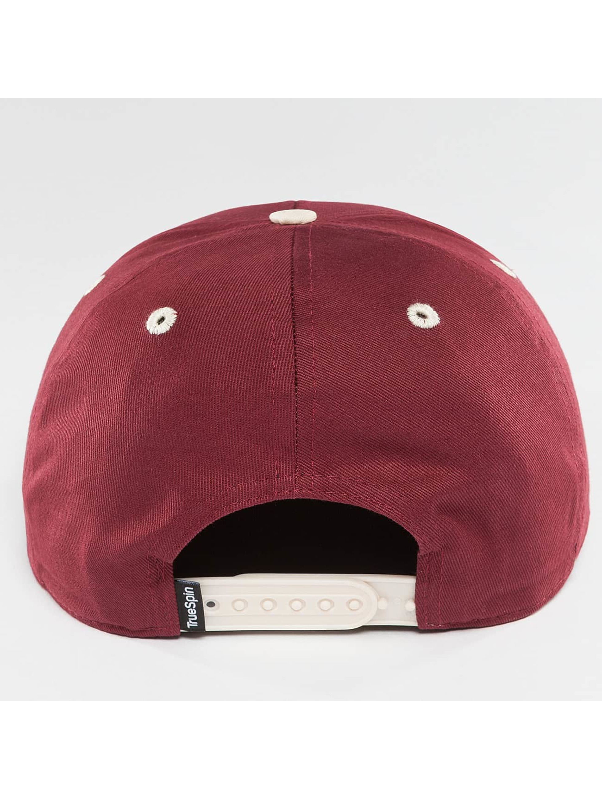 TrueSpin Snapback Caps Chiller punainen