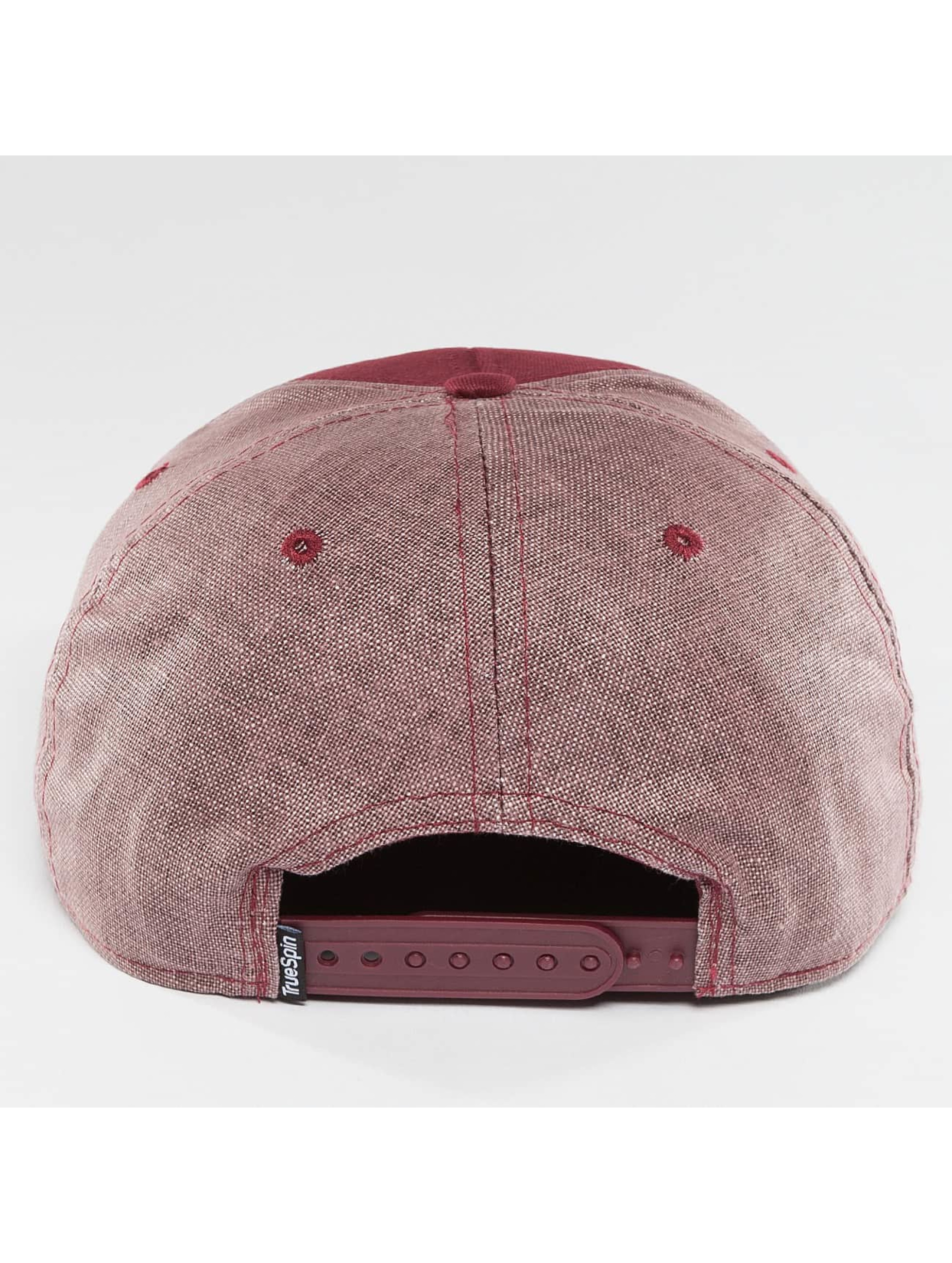 TrueSpin Snapback Caps New Velevet red
