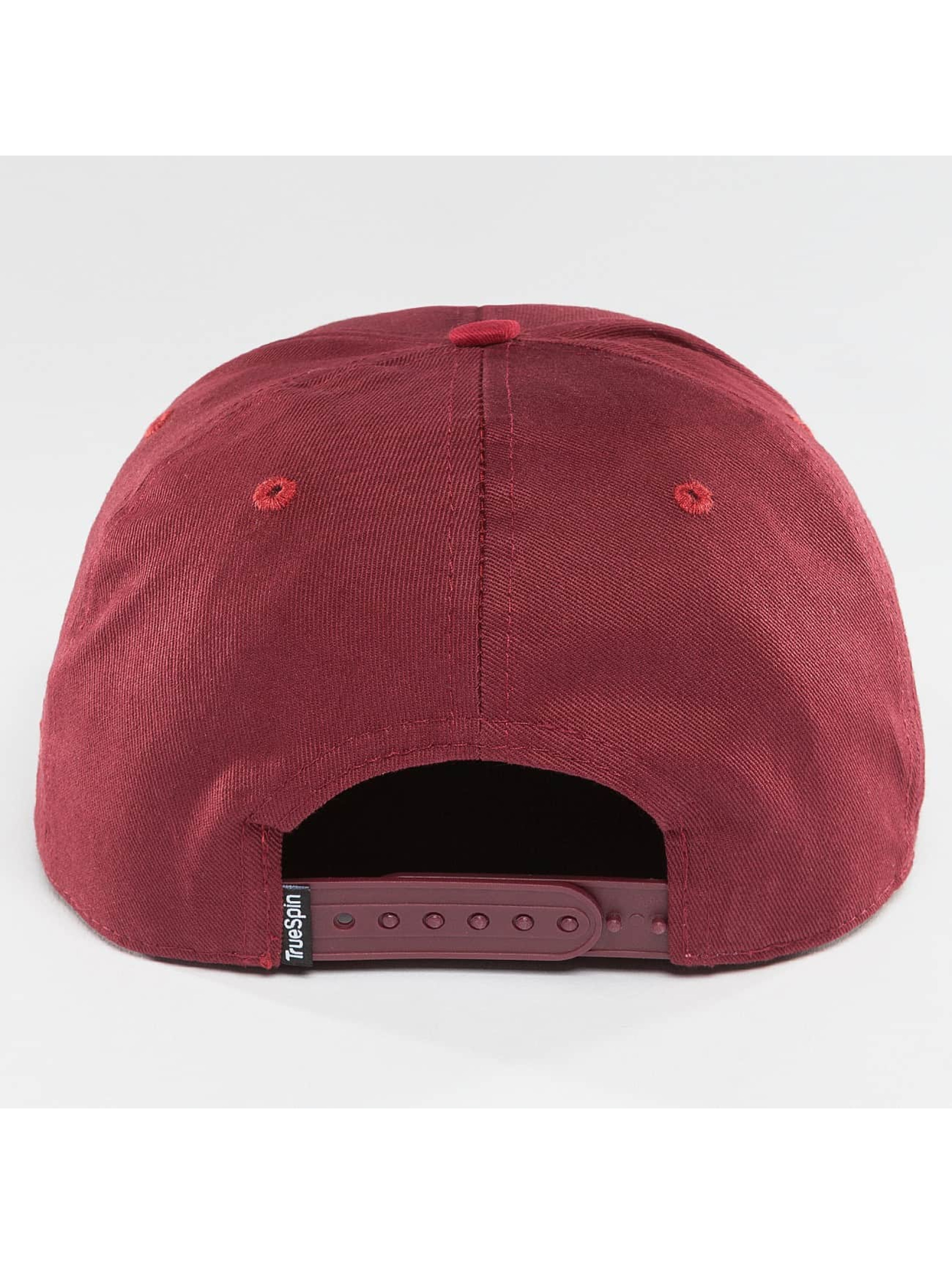 TrueSpin Snapback Caps Shorty MYOB red