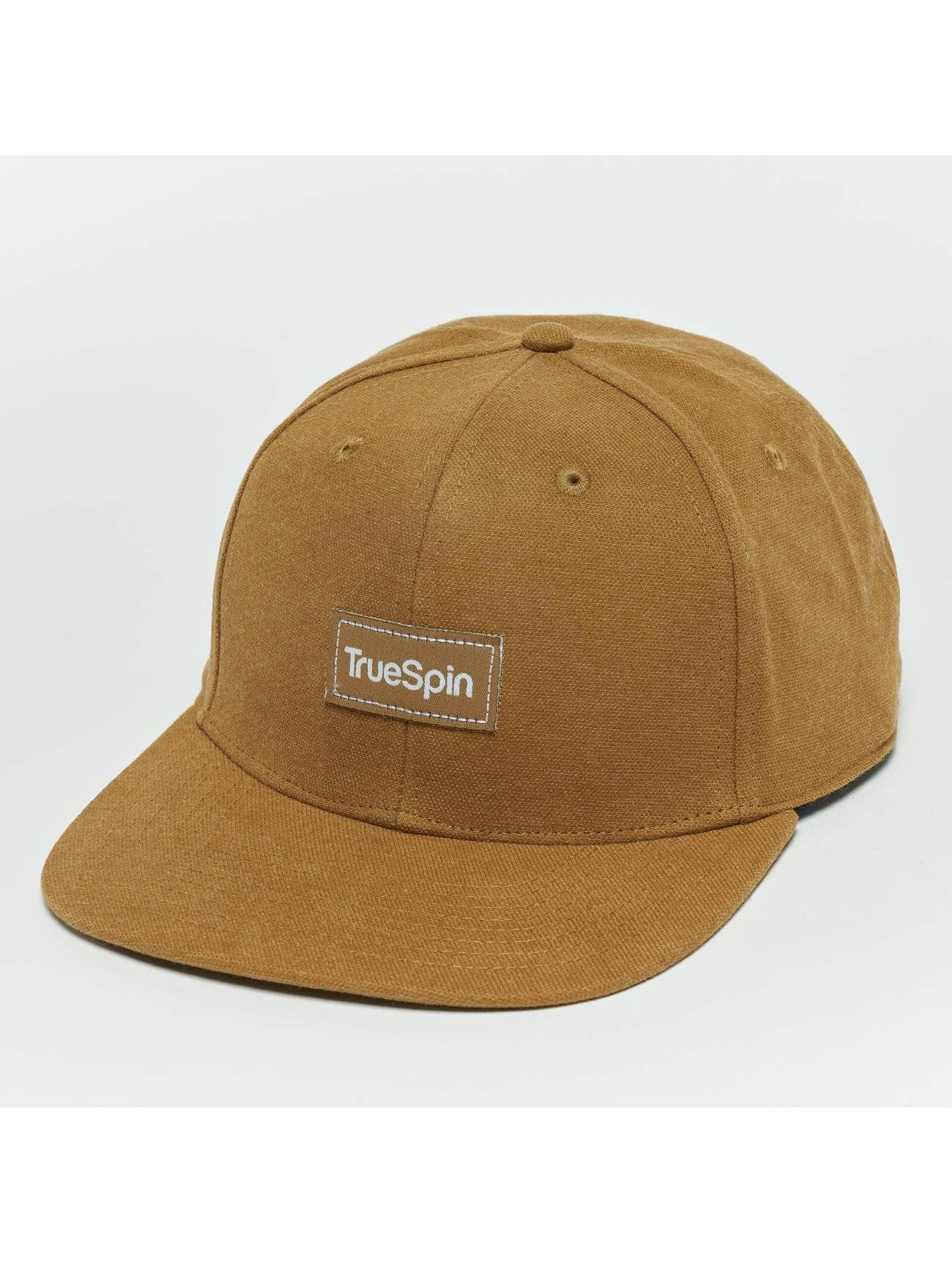 TrueSpin Snapback Caps Decent ruskea