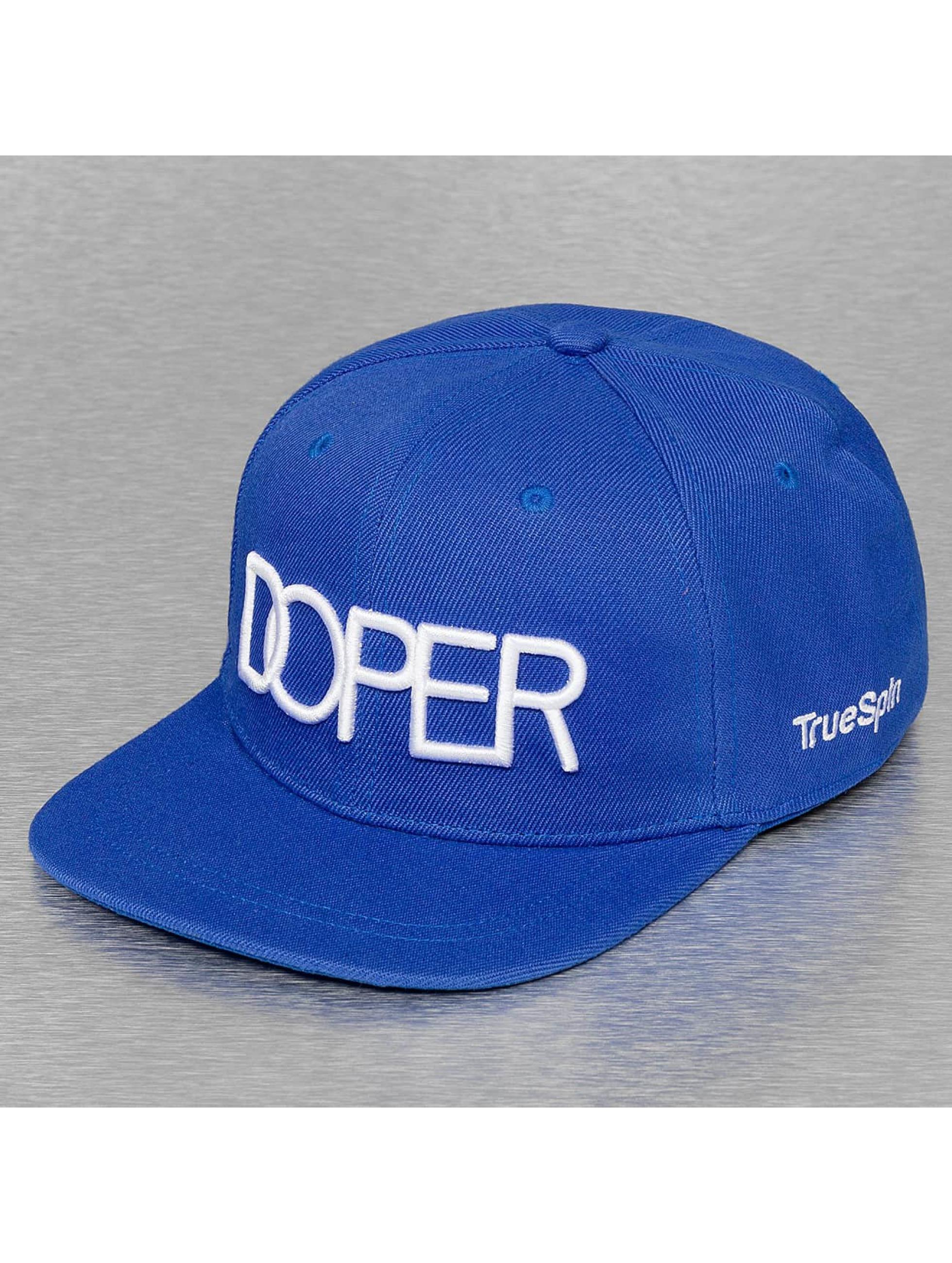TrueSpin Snapback Caps Doper sininen