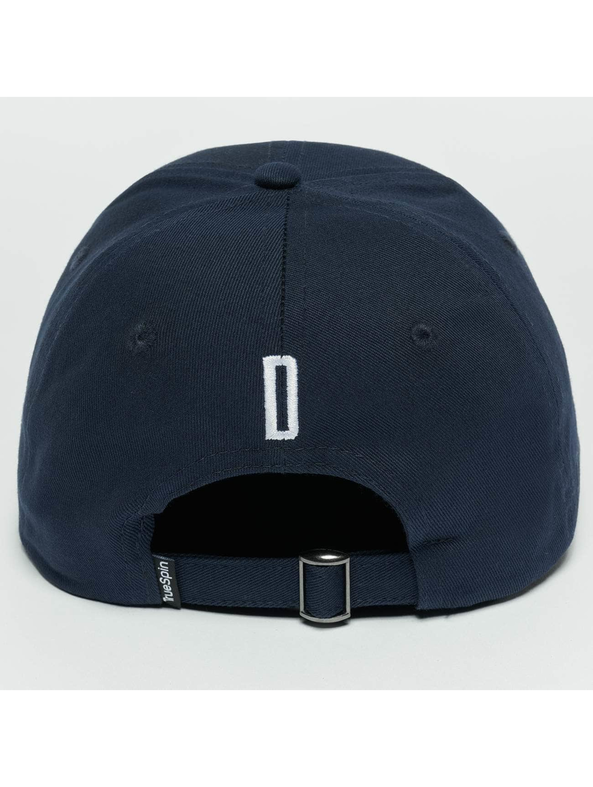 TrueSpin Snapback Caps ABC D sininen